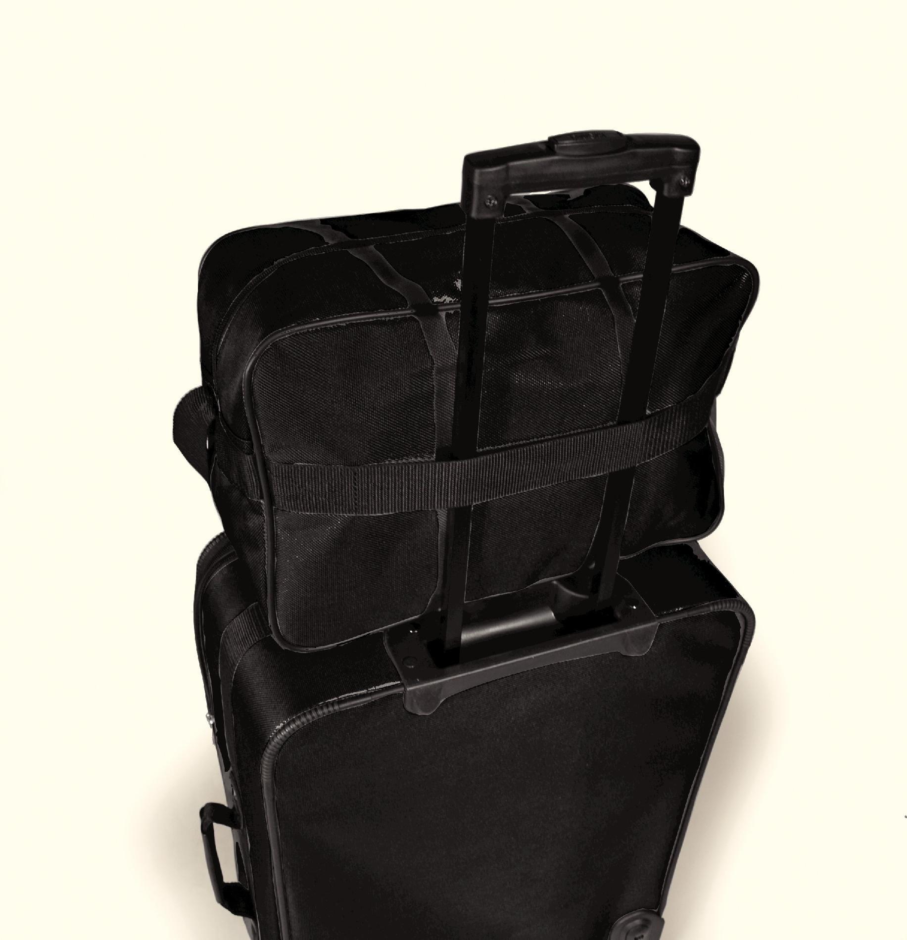 American Tourister 2pc Luggage Set (Black)