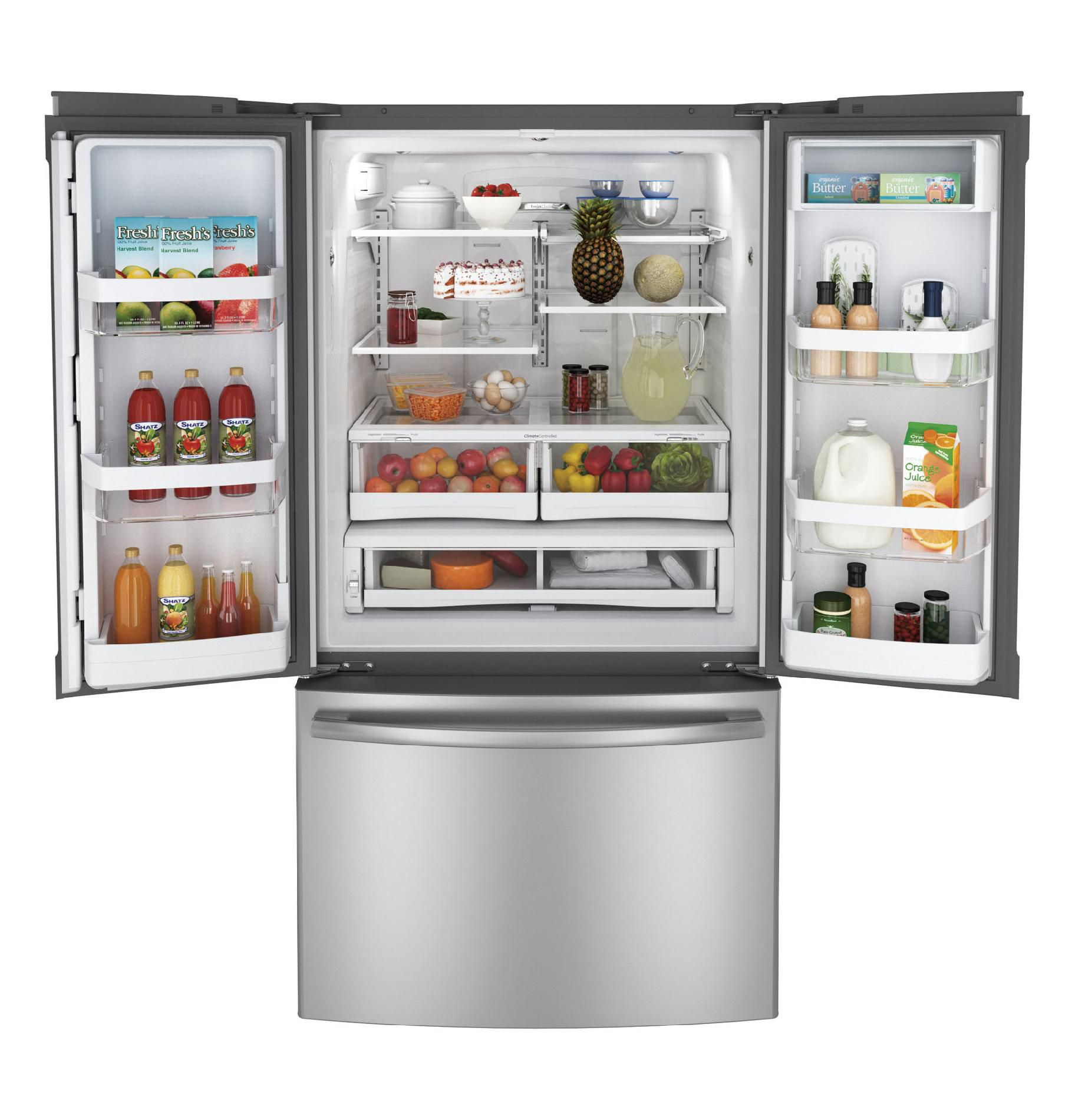 GE 26.3 cu. ft. French Door Refrigerator - Stainless Steel
