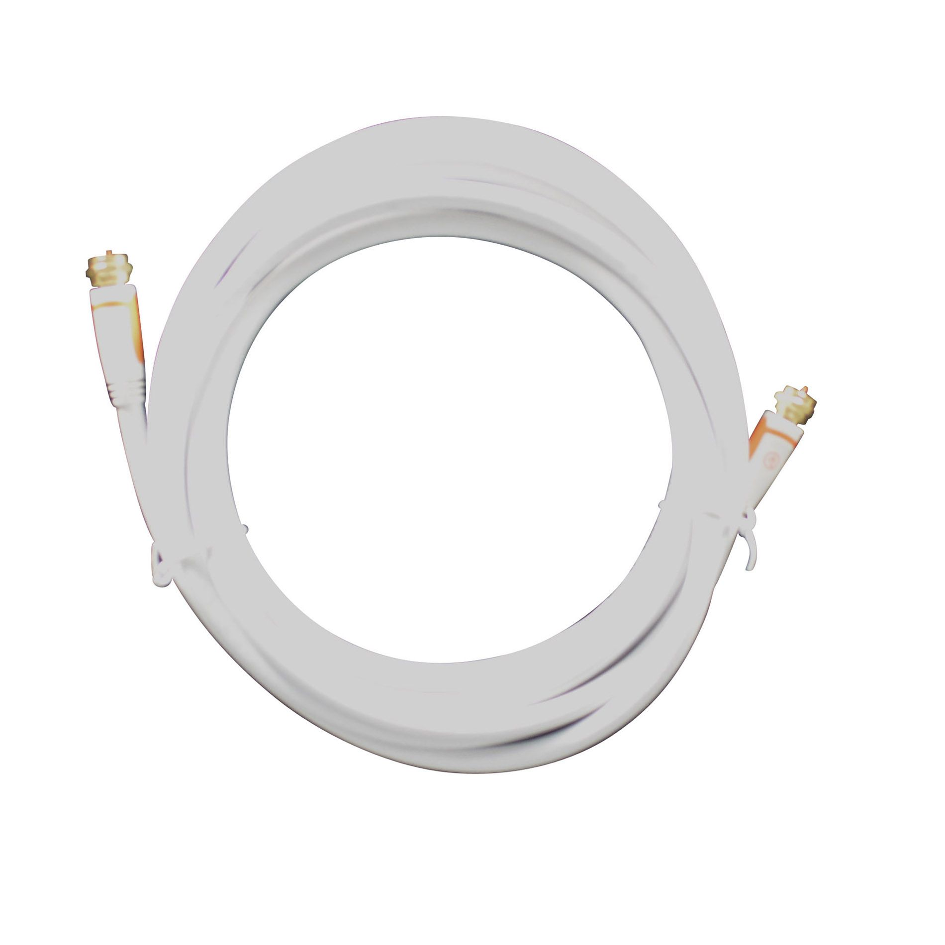 Alphaline™ 12' RG6 Coaxial Cable - White