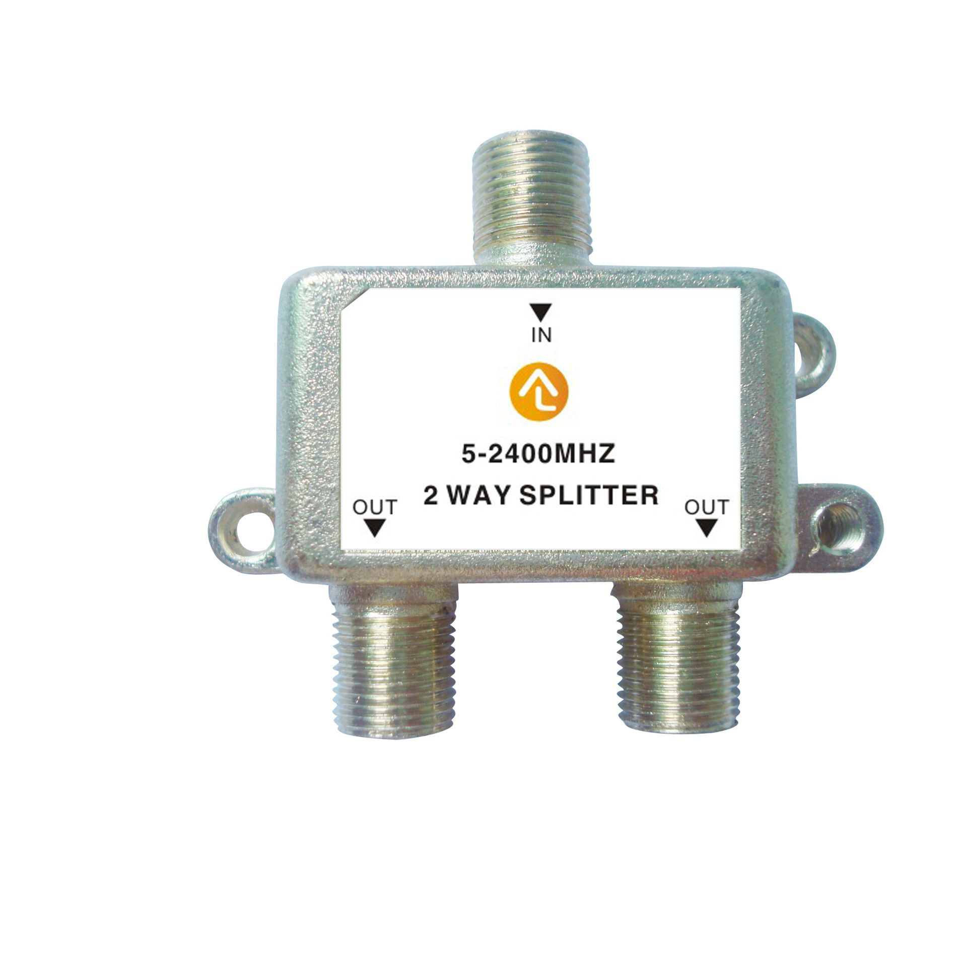 Alphaline™ 2-Way Coaxial Cable Splitter