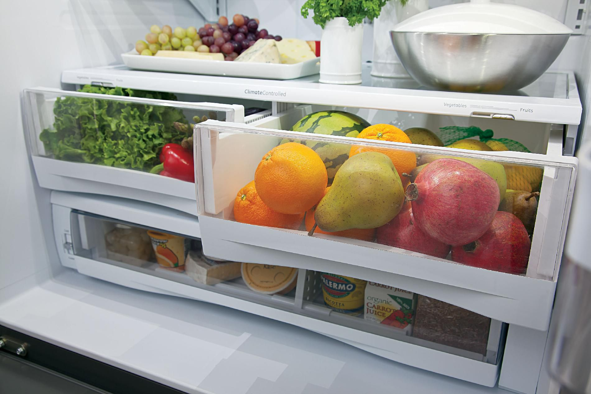 GE 26.3 cu. ft. French Door Refrigerator - Slate