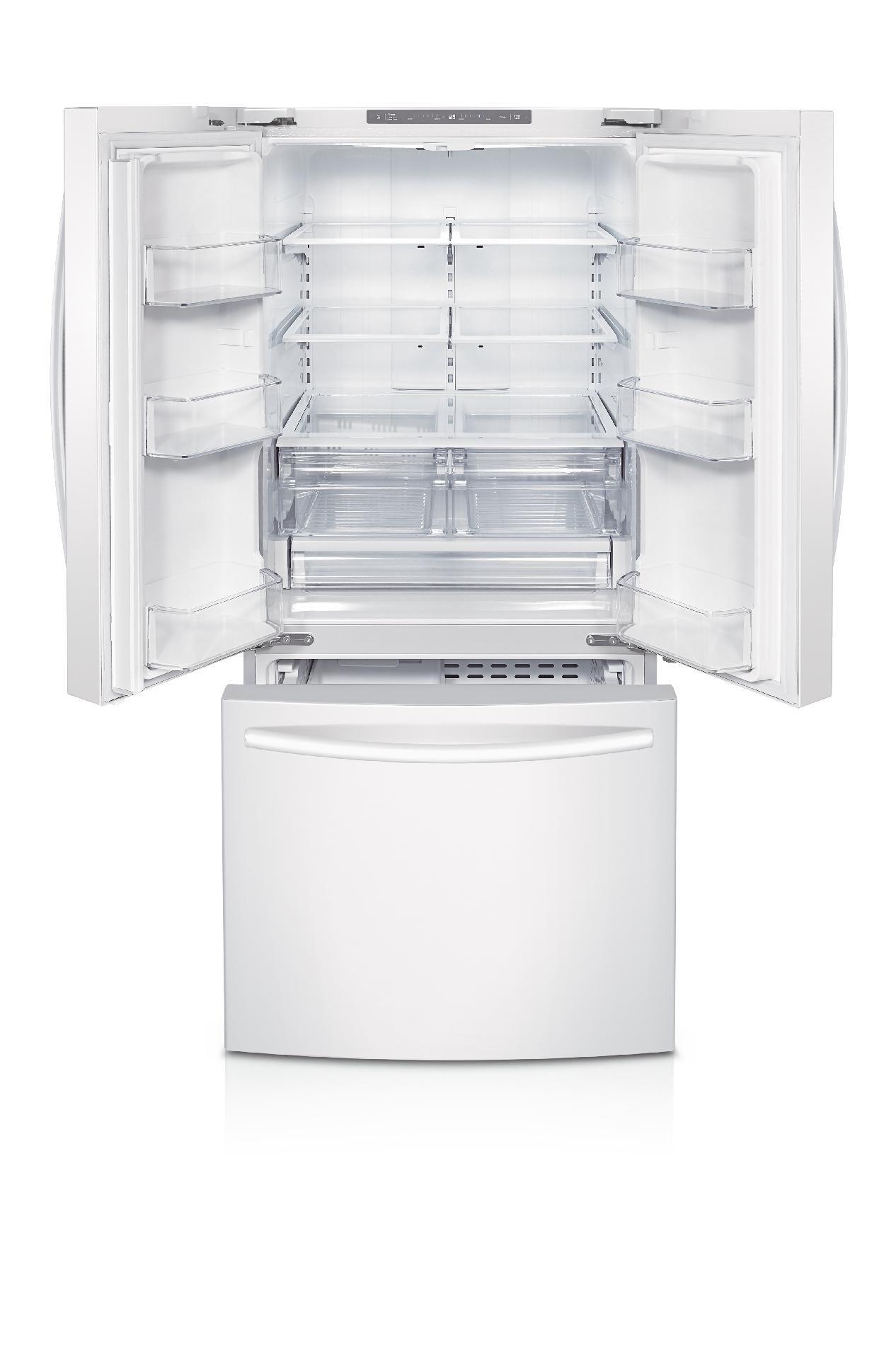 Samsung 22 cu. ft. French Door Refrigerator - White