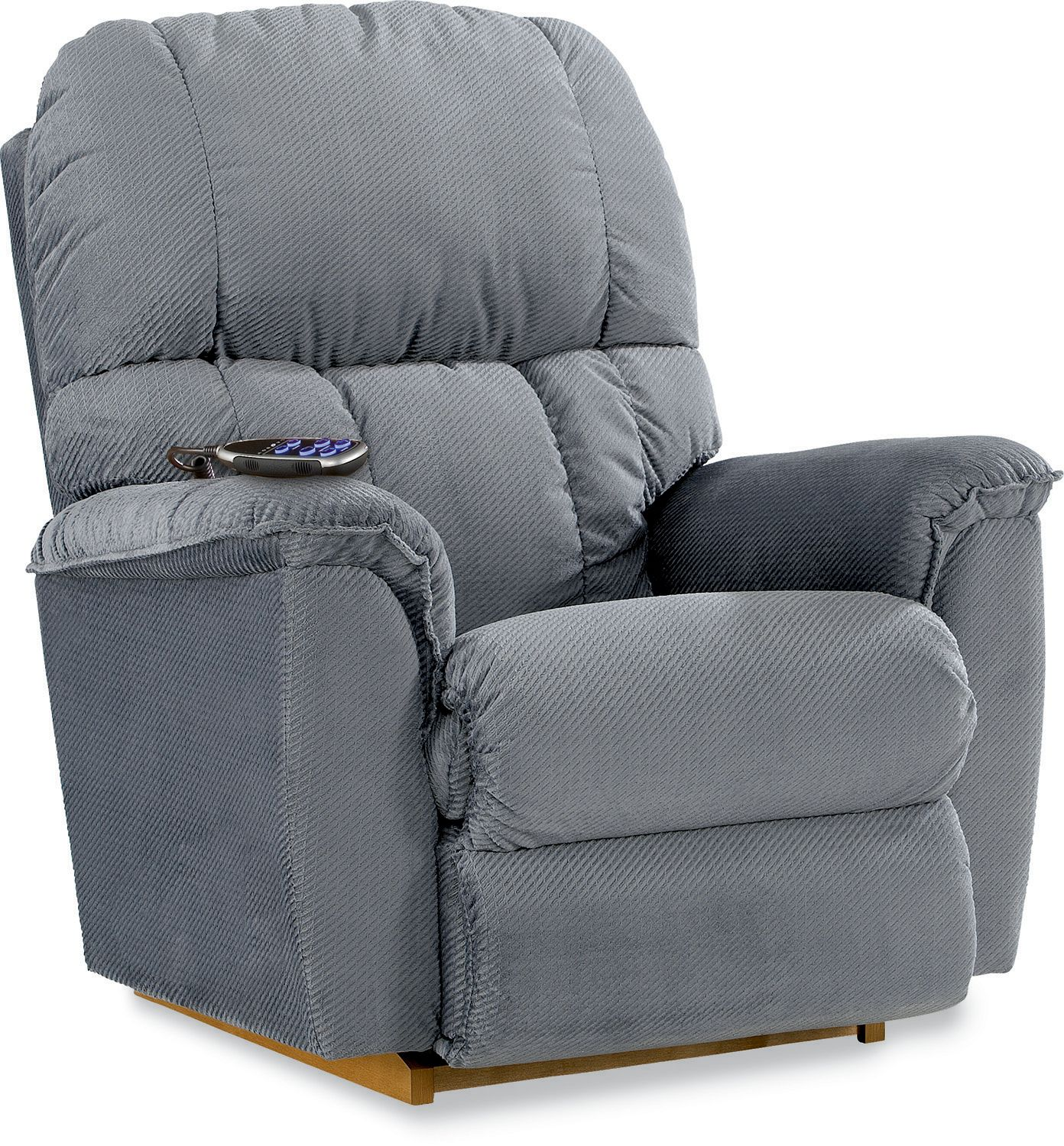 La-Z-Boy Power Imperial Recliner- Coastal Blue