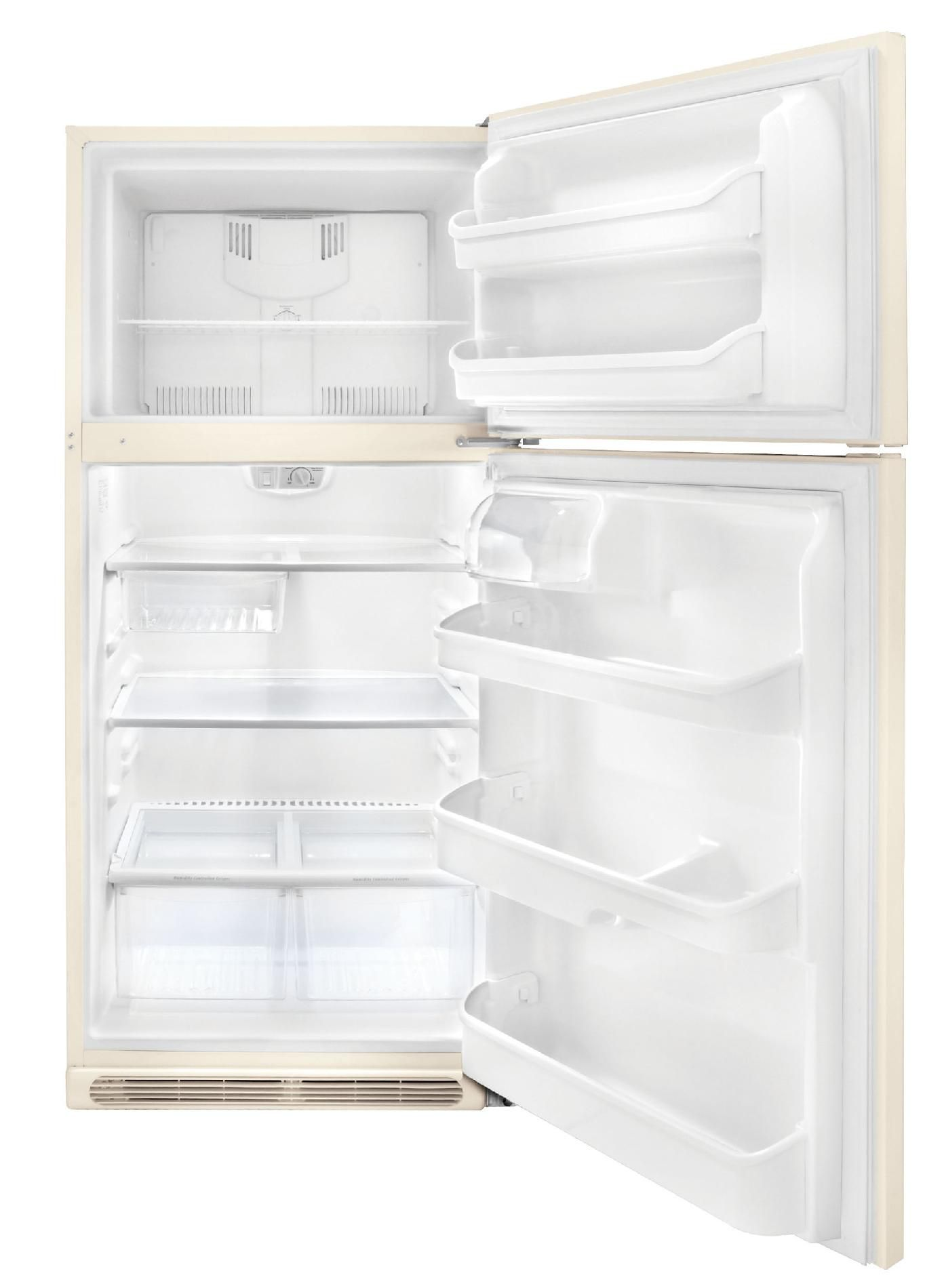 Frigidaire 20.6 cu. ft Top-Freezer Refrigerator - Bisque