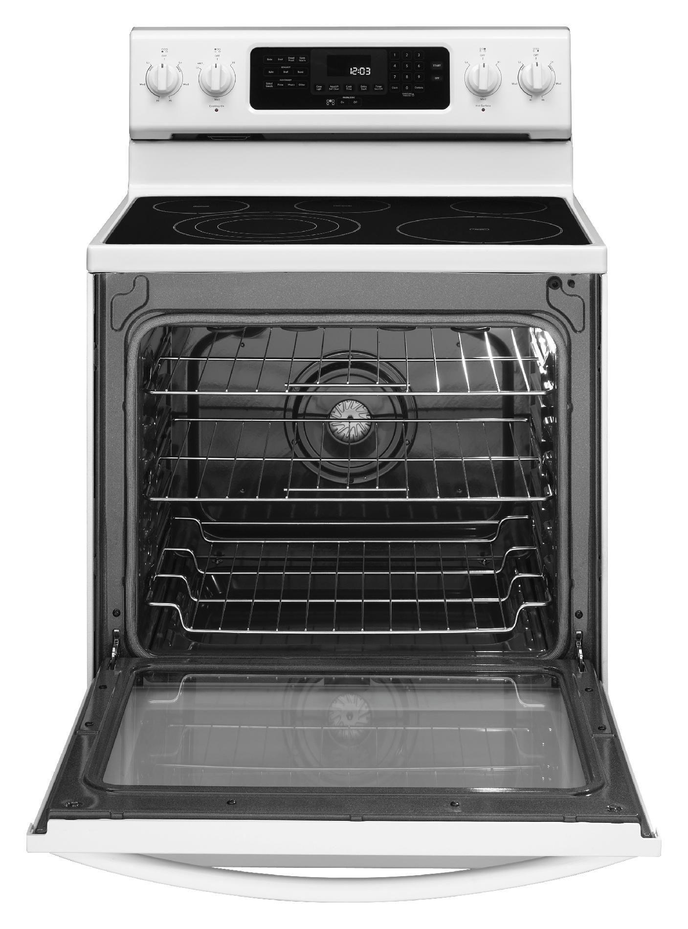 KitchenAid 6.2 cu. ft. Electric Range w/ Event-Heat™ Technology - White