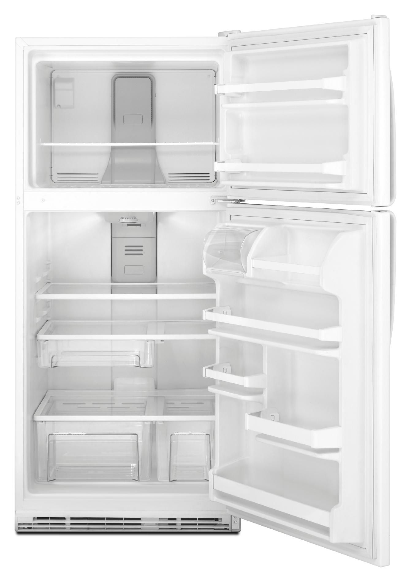 Whirlpool 18.5 cu. ft. Top-Freezer Refrigerator w/ Humidity Controlled Crispers - White