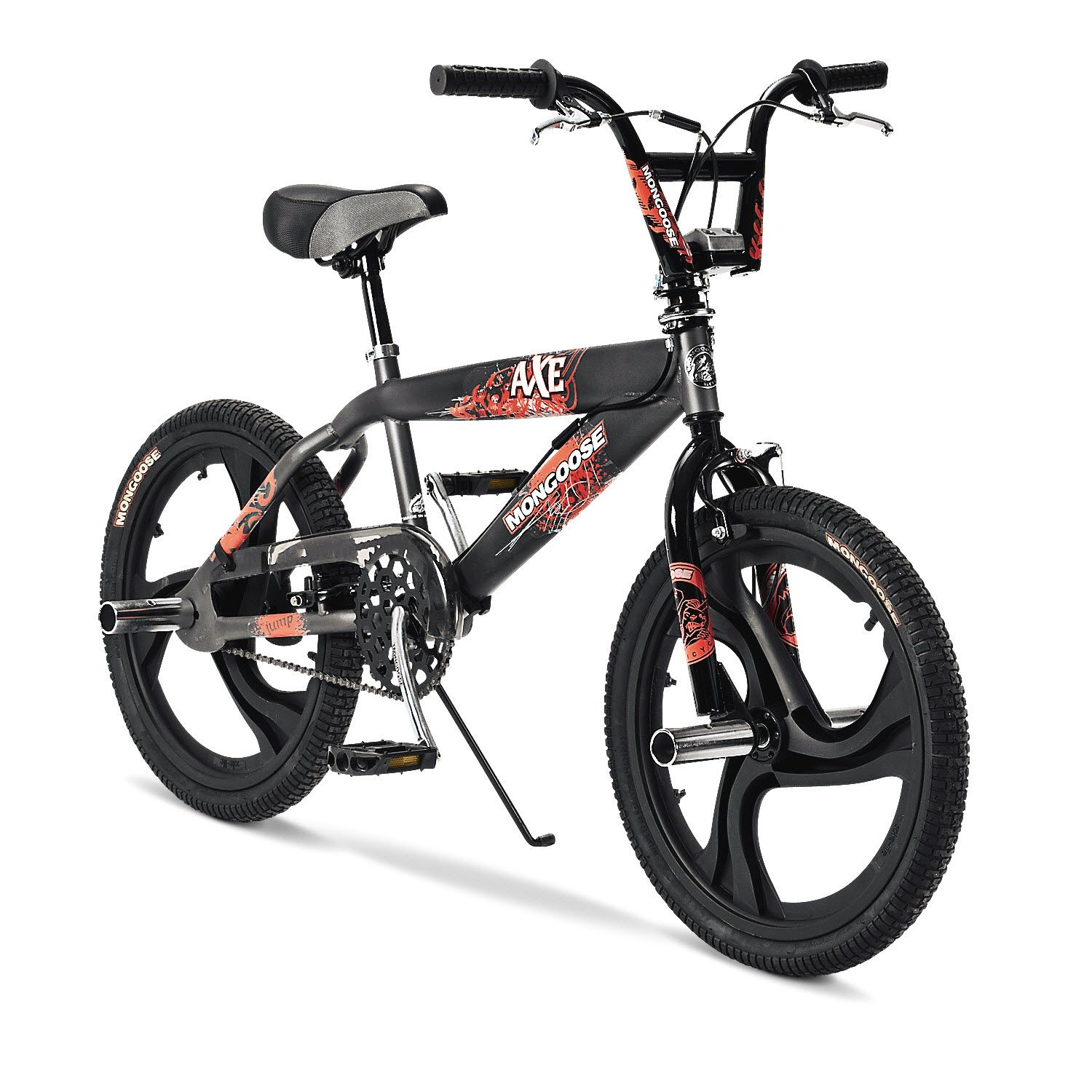 Mongoose B Axe 20 Inch Boy's BMX Bike