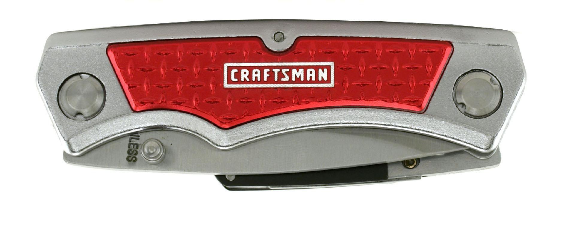 Craftsman Twin-Blade Lockback Folding Knife