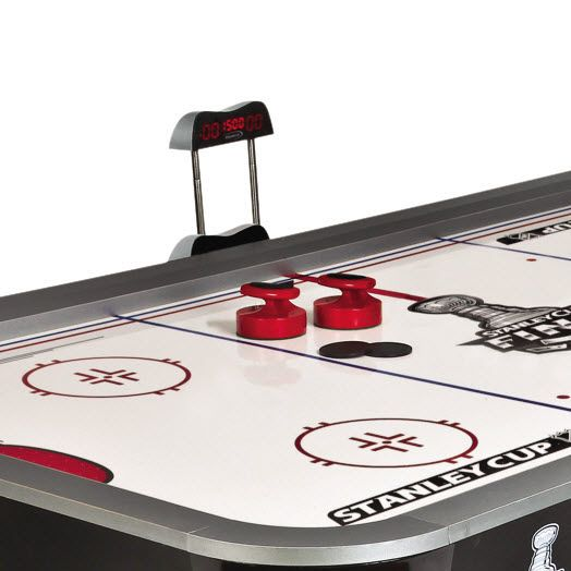 NHL Stanley Cup 7 ft. Powerglide Hockey Table with BONUS Table Tennis Top