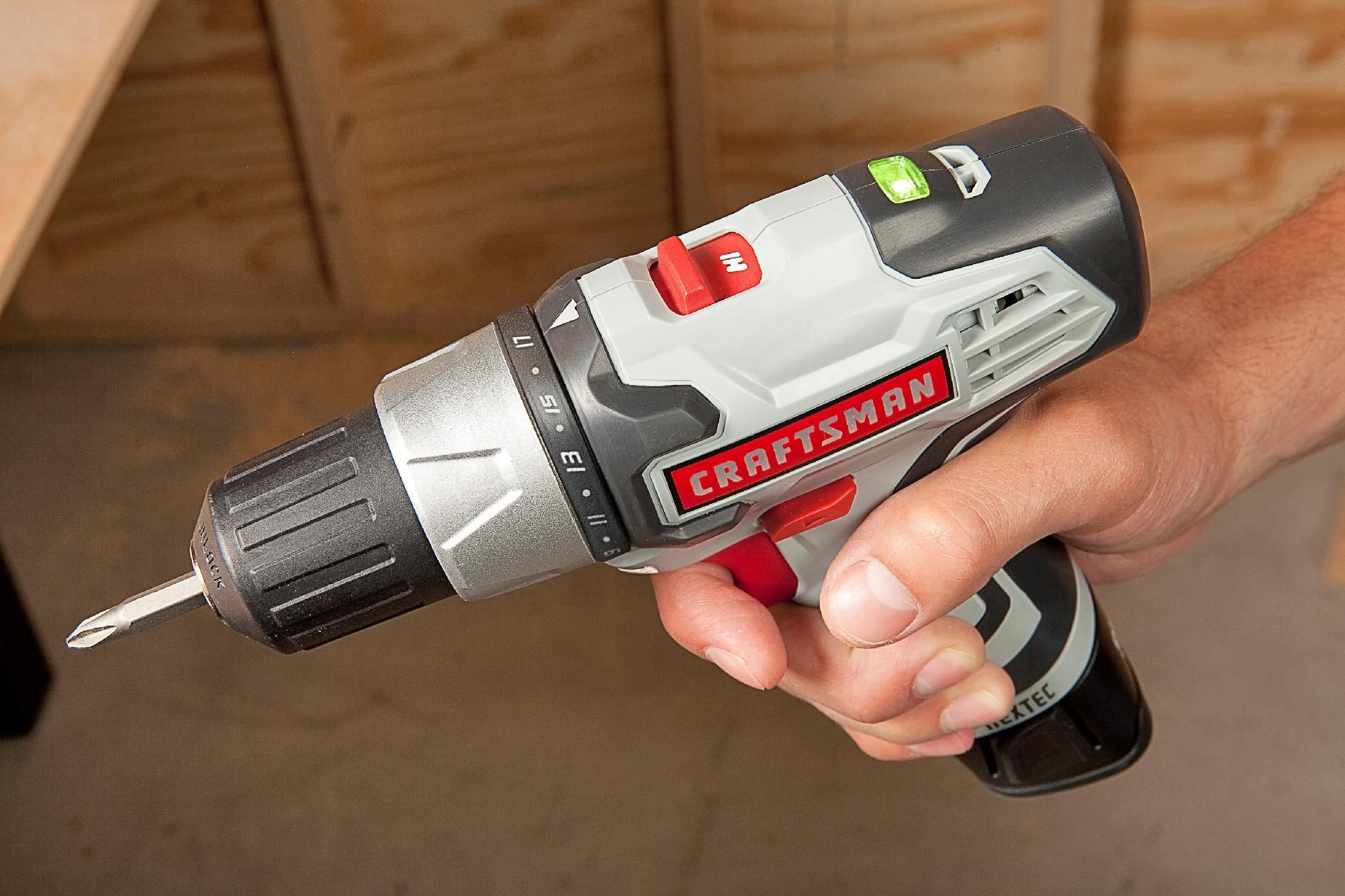 Craftsman Nextec 12.0 V Drill/Driver with Best in Class Torque