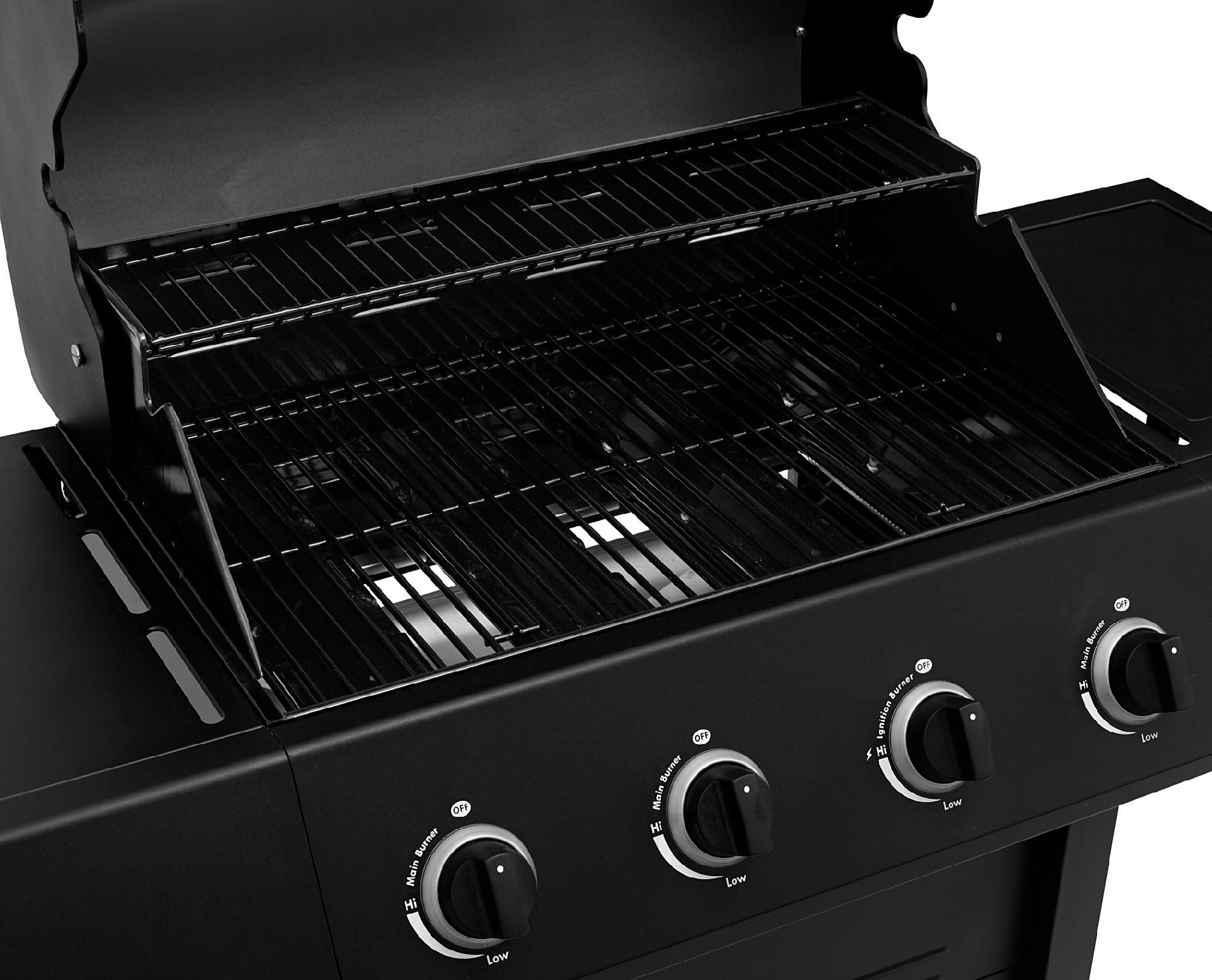 BBQ Pro 4 Burner Gas Grill with Stainless Steel Lid* Limited Availability