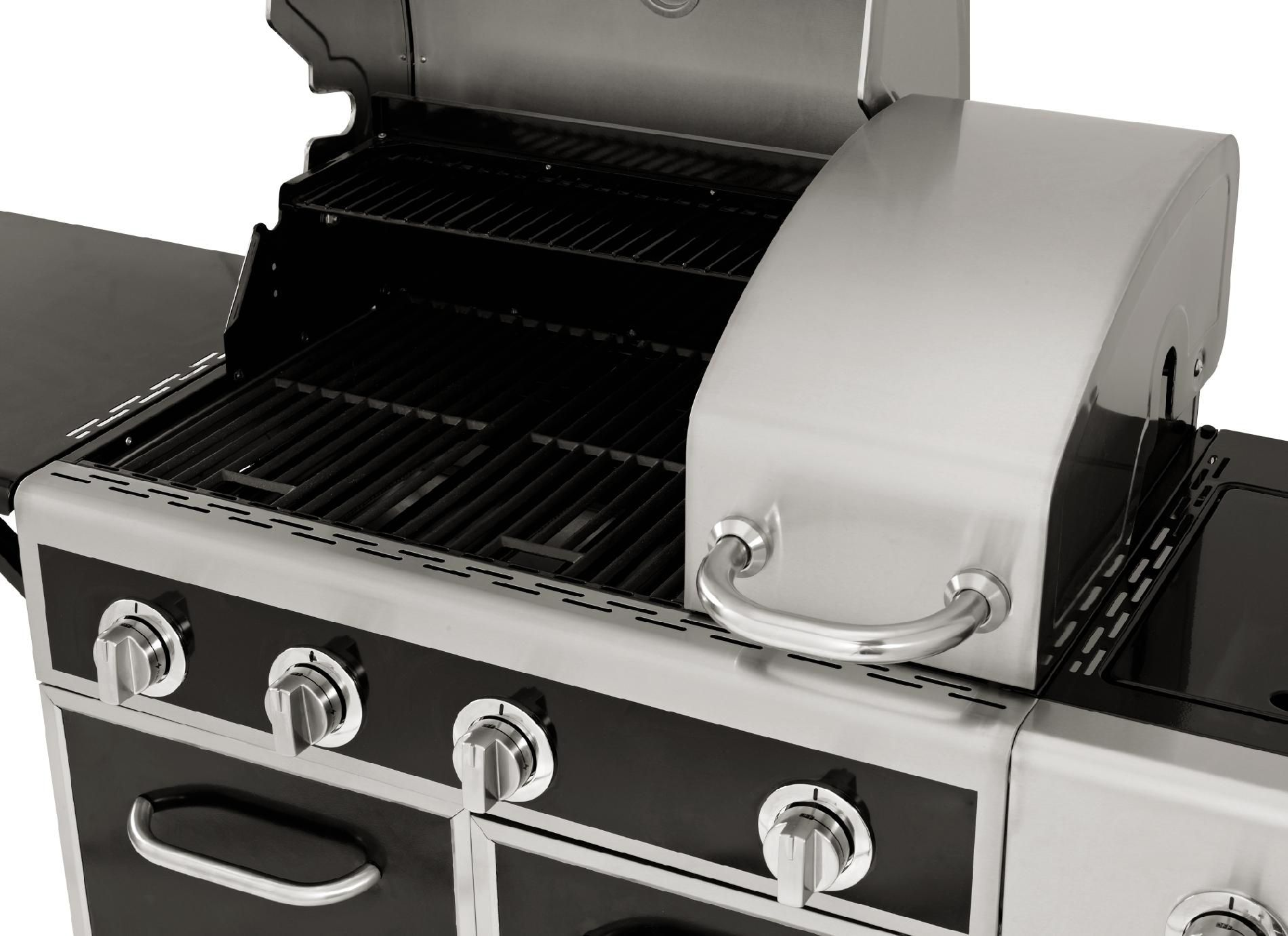 Kenmore 4 Burner Gas Grill with Split Lid