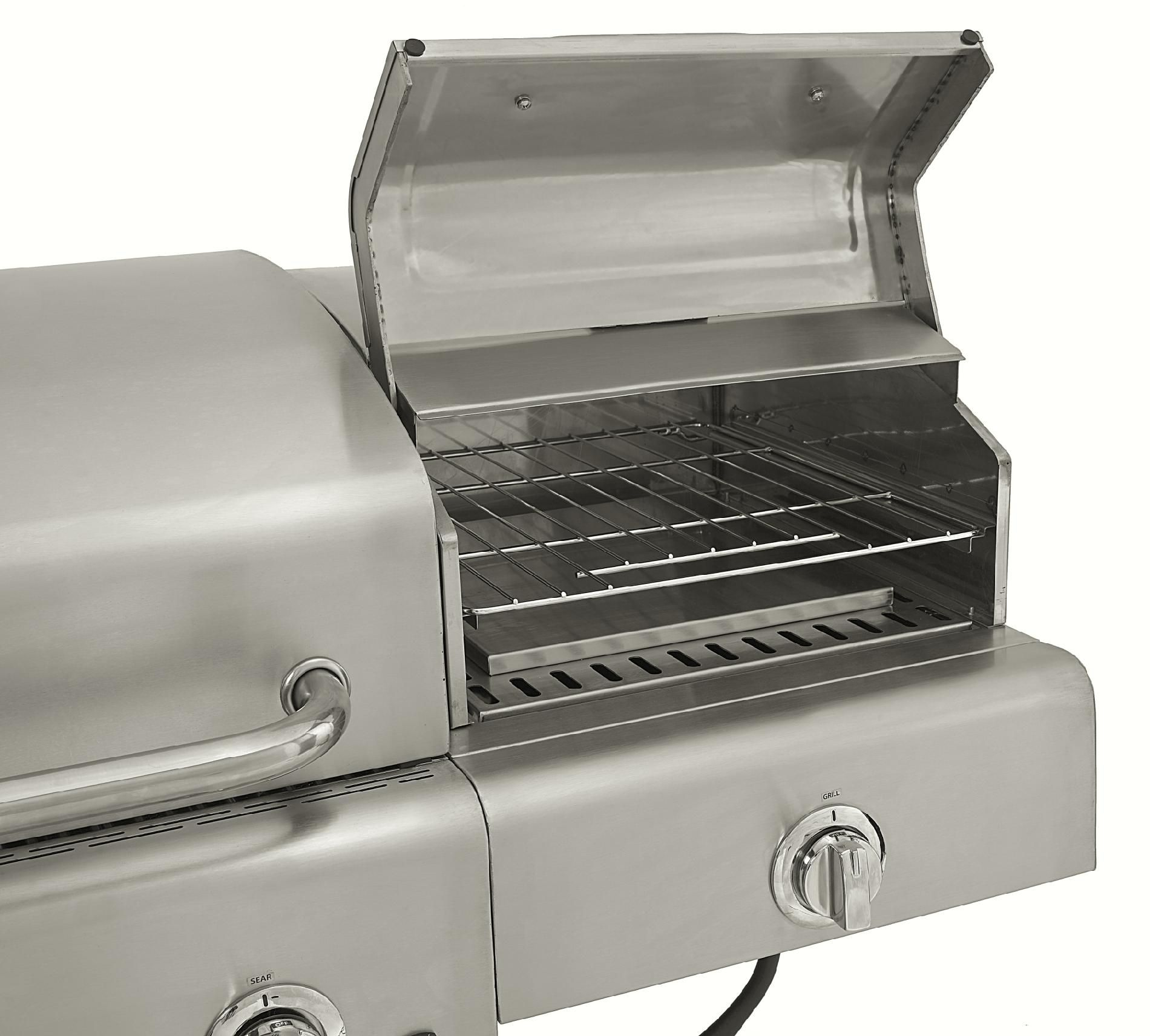 Kenmore Stainless Steel 4 Burner Gas Grill with Oven