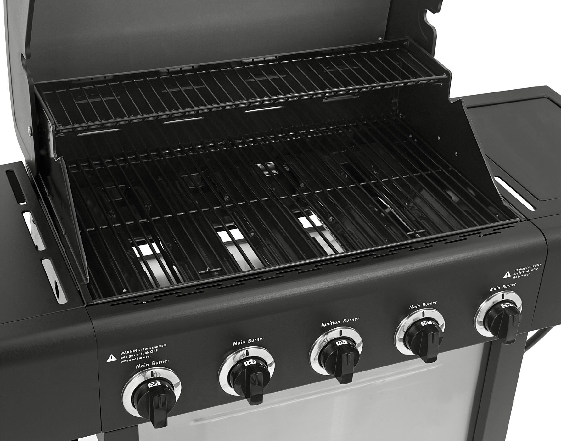 Kenmore 5 Burner LP Gas Grill with Side Burner
