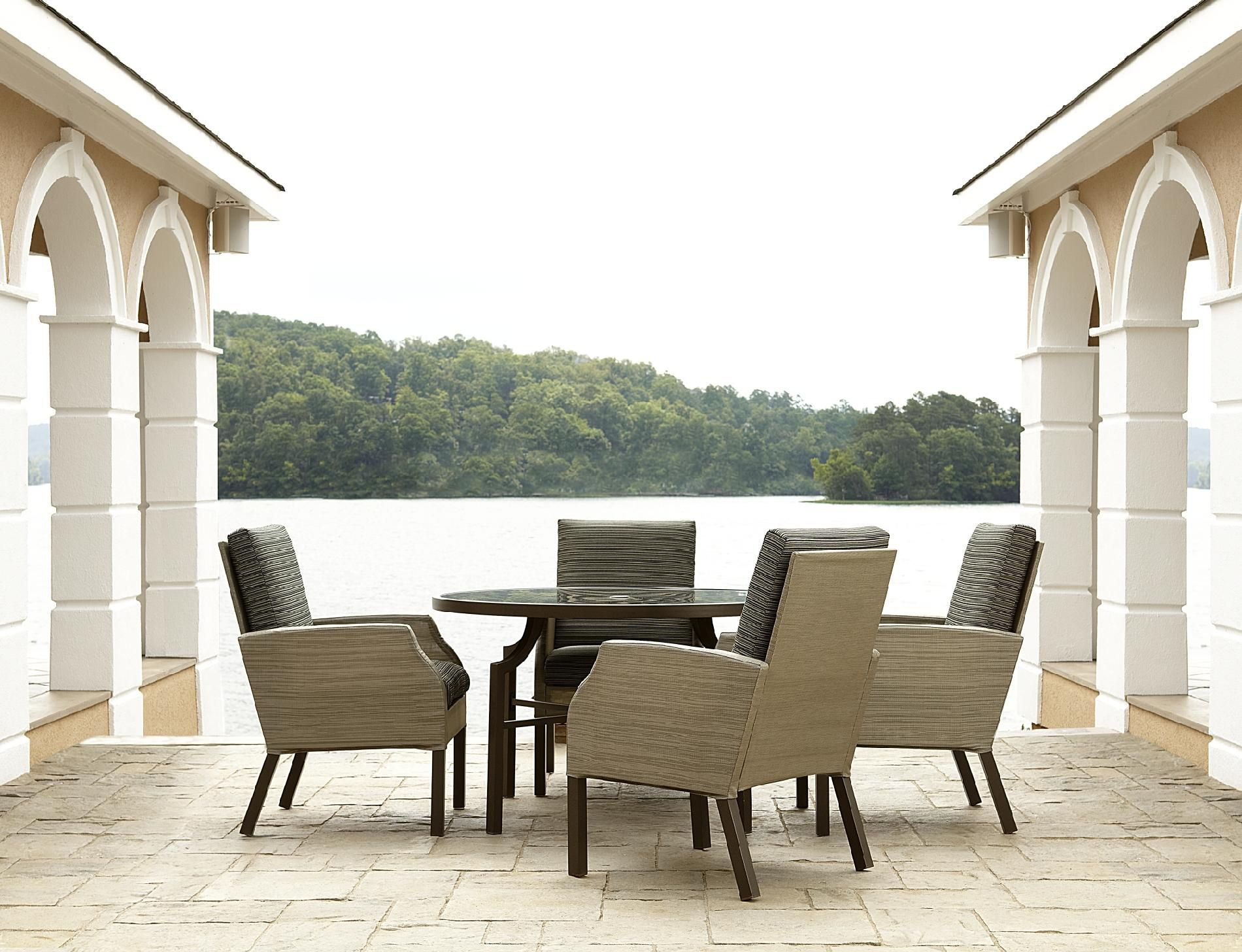 La-Z-Boy Outdoor Sadler 5pc Dining Set