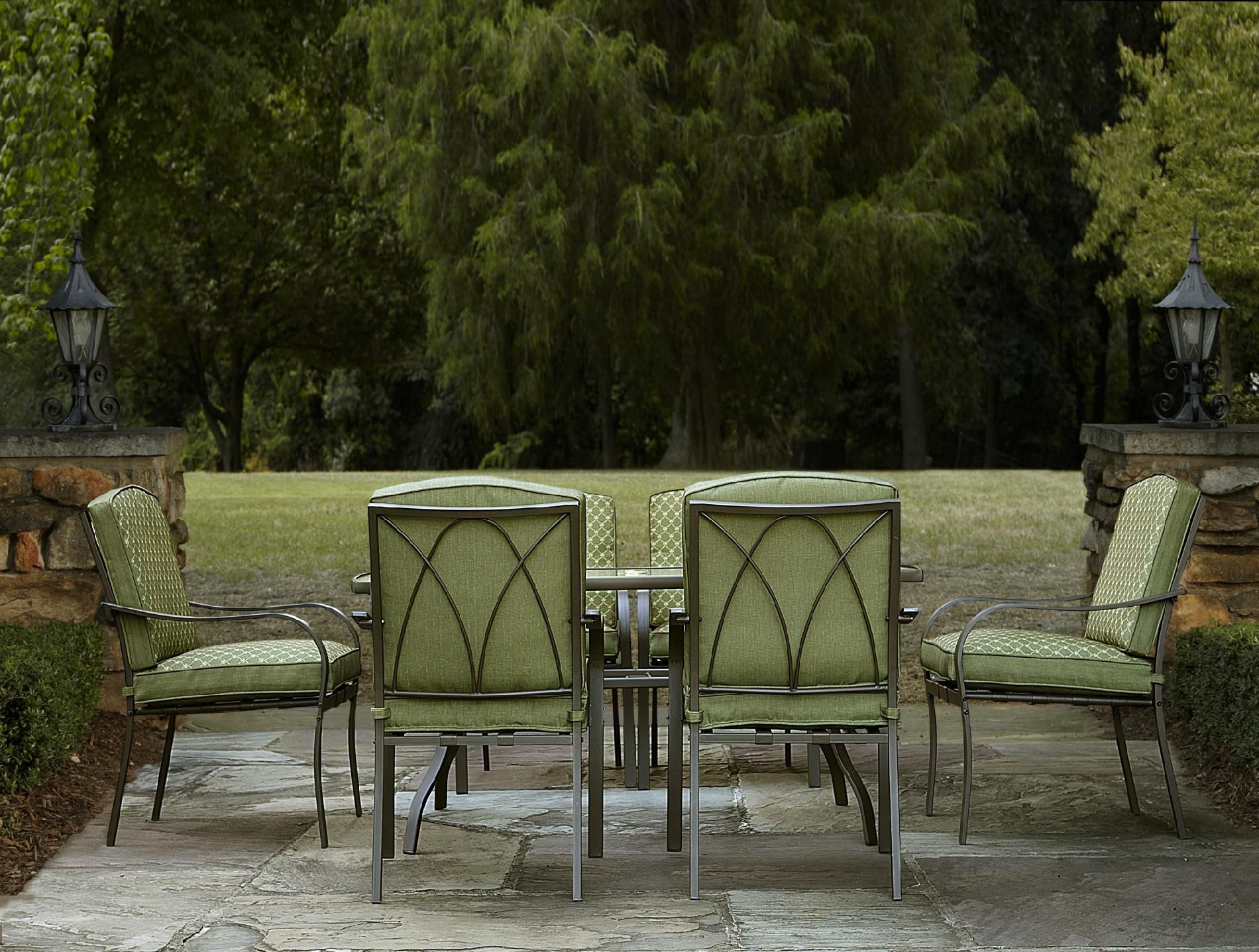 Garden Oasis Shoal Creek 7pc Dining Set