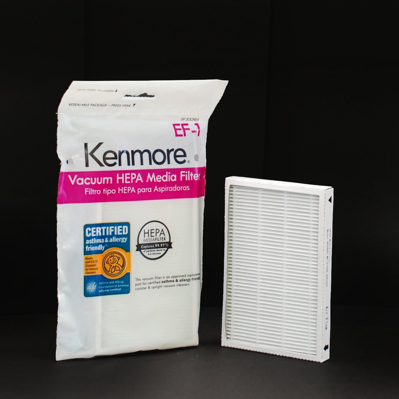 Kenmore 53295 HEPA Vacuum Media Filter, EF-1