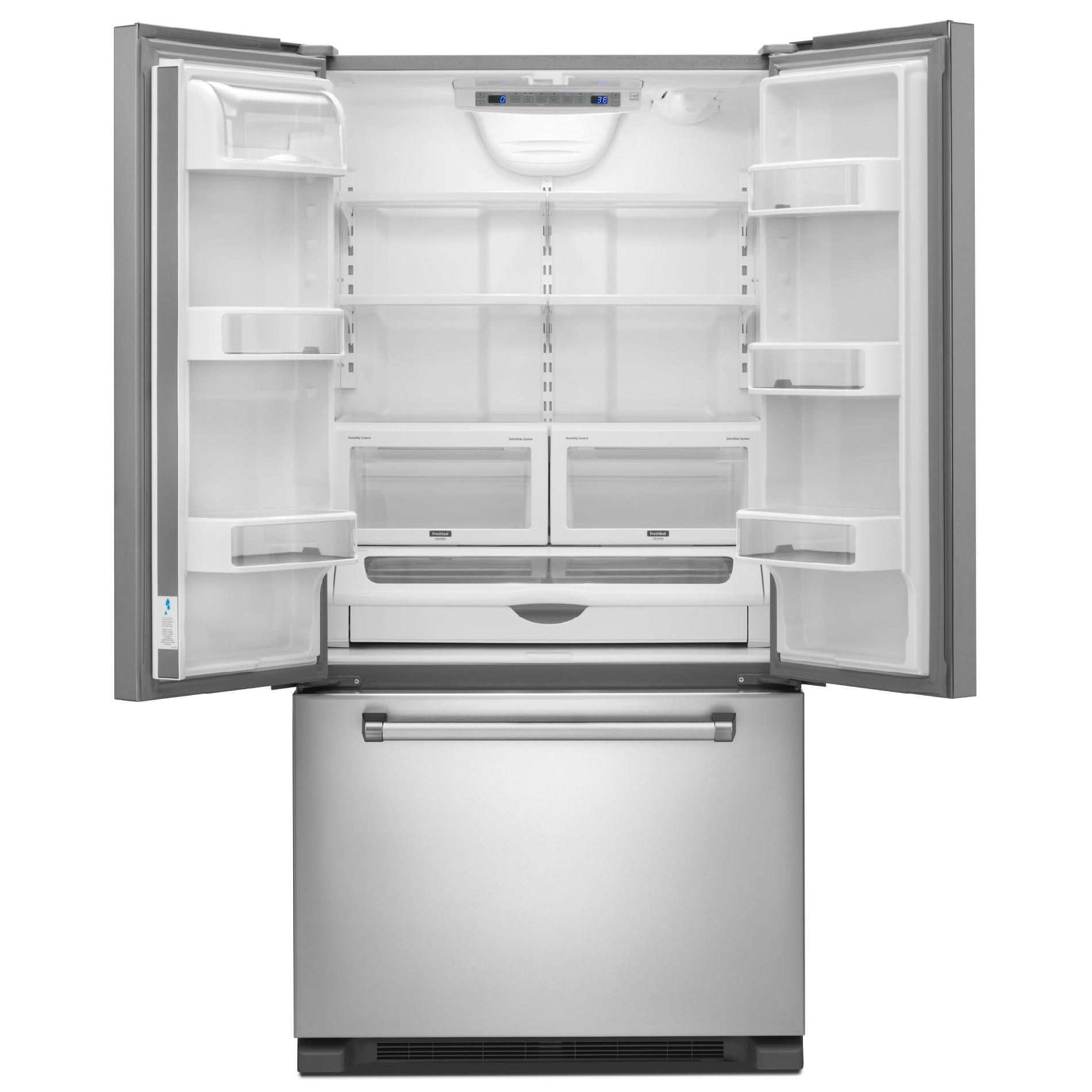 KitchenAid 21.9 Cu. Ft. Counter-Depth Bottom-Freezer Refrigerator