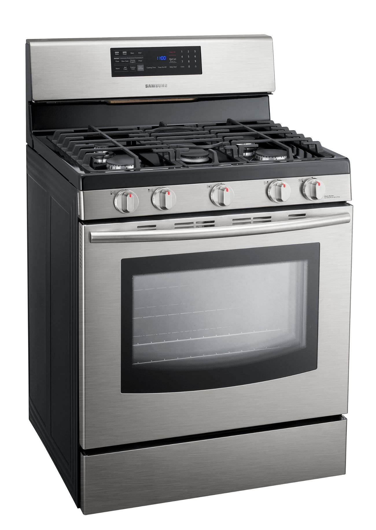 Samsung 5.8 cu. ft. Freestanding Gas Range - Stainless Steel
