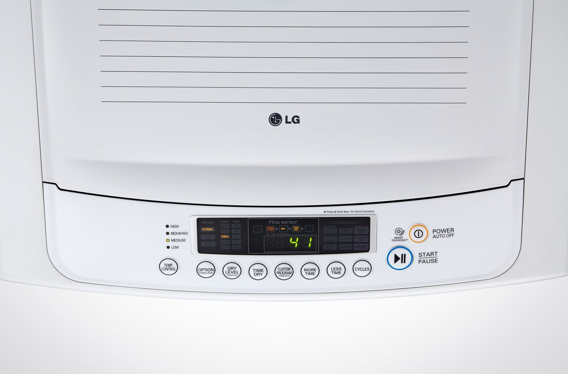 LG DLG1102W 7.3 cu. ft. Gas Dryer - White
