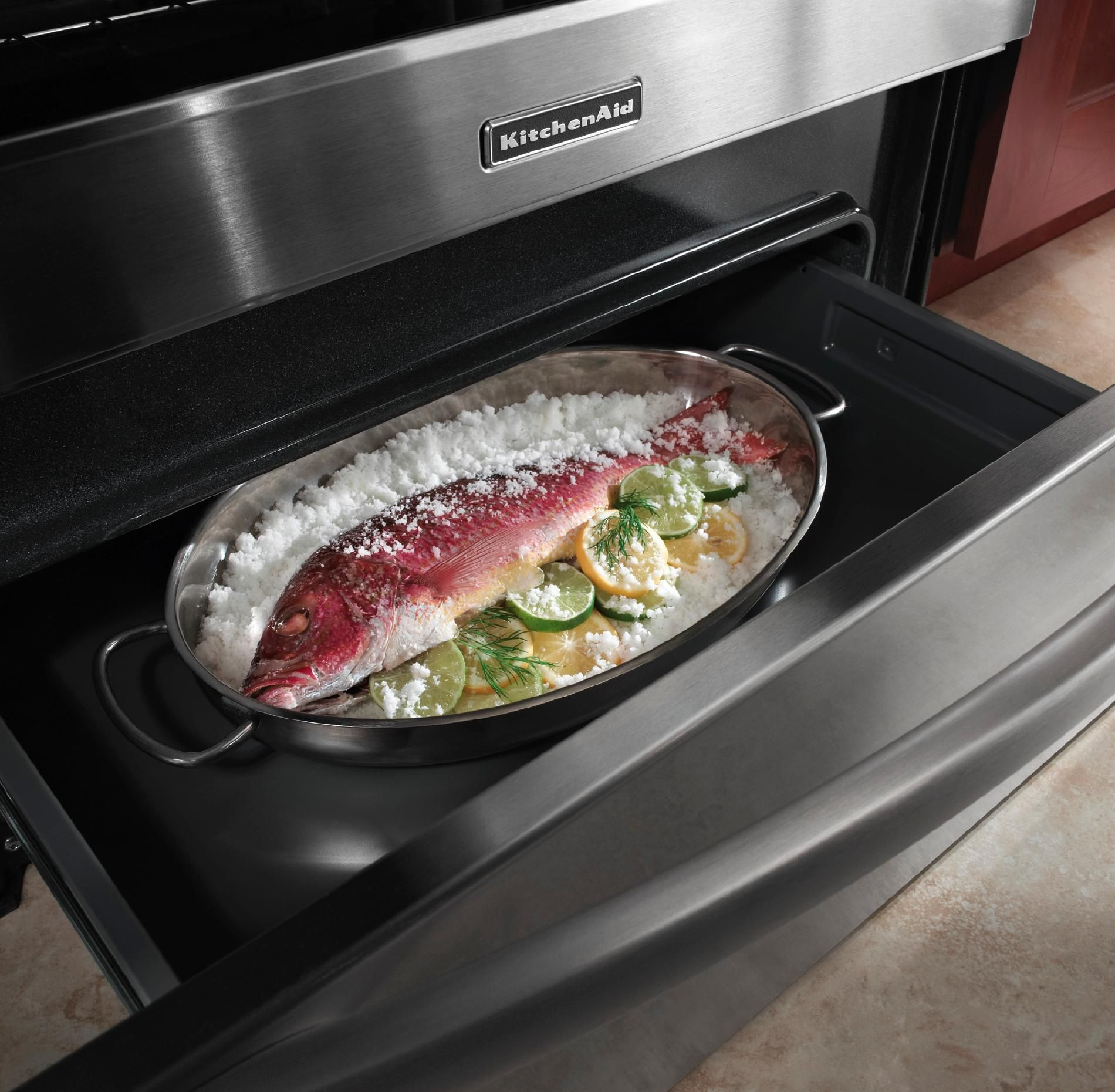KitchenAid 6.2 cu. ft. Induction Range w/ Even-Heat™ Technology, Stainless Steel