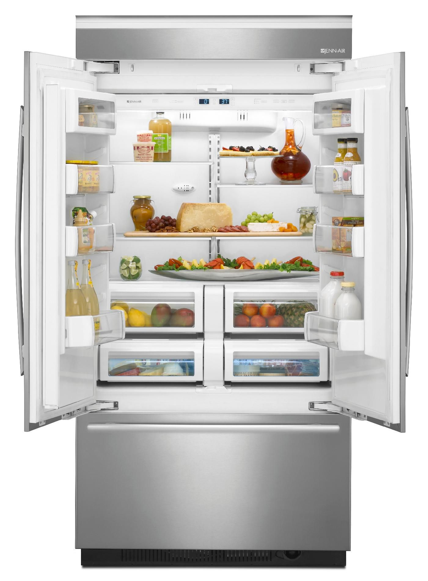 Jenn-Air 22.6 cu. ft. Fully Integrated Built-In French-Door Refrigerator