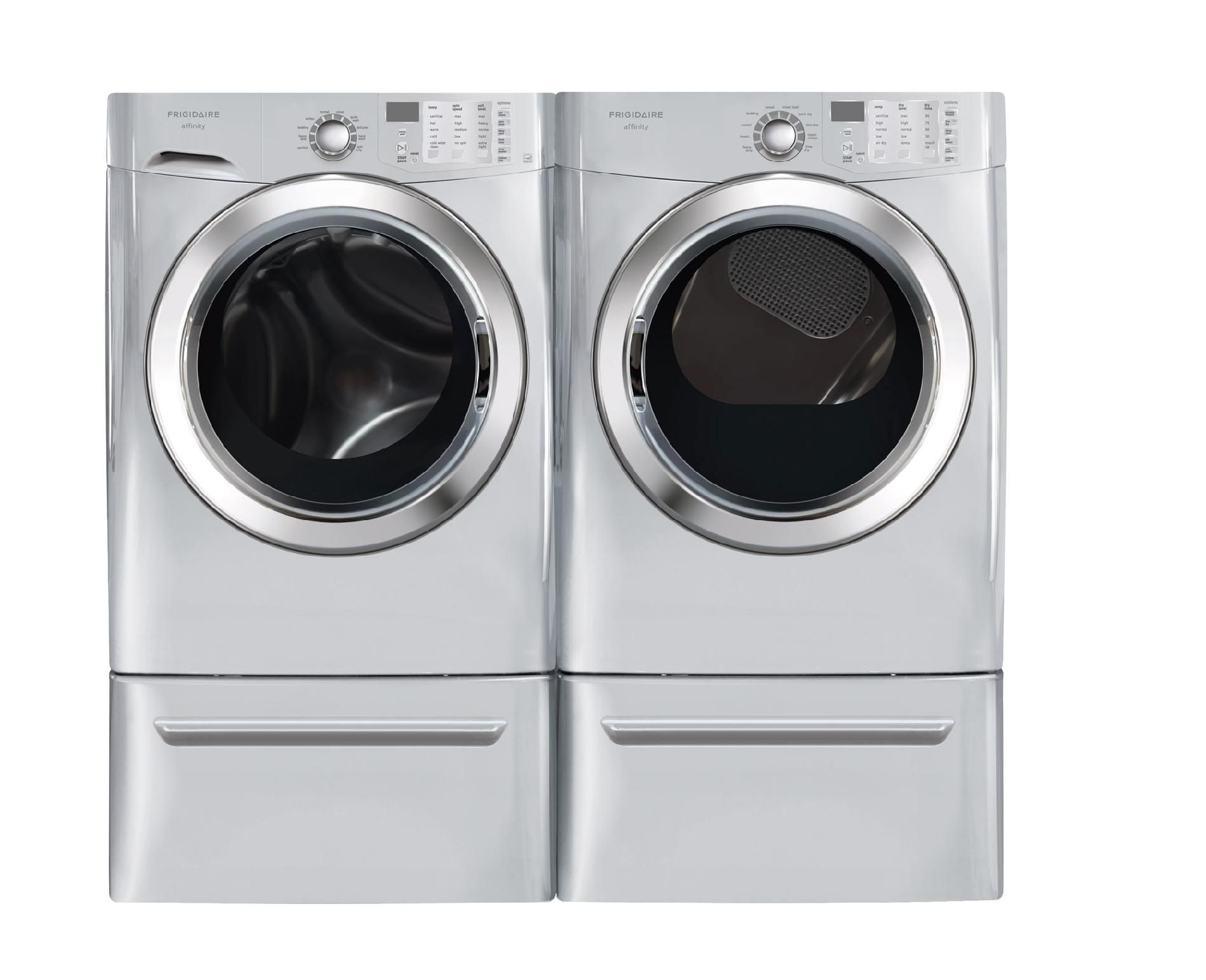 Frigidaire 3.8 cu. ft.  Front-Load Washer w/ Ready Steam™ - Classic Silver