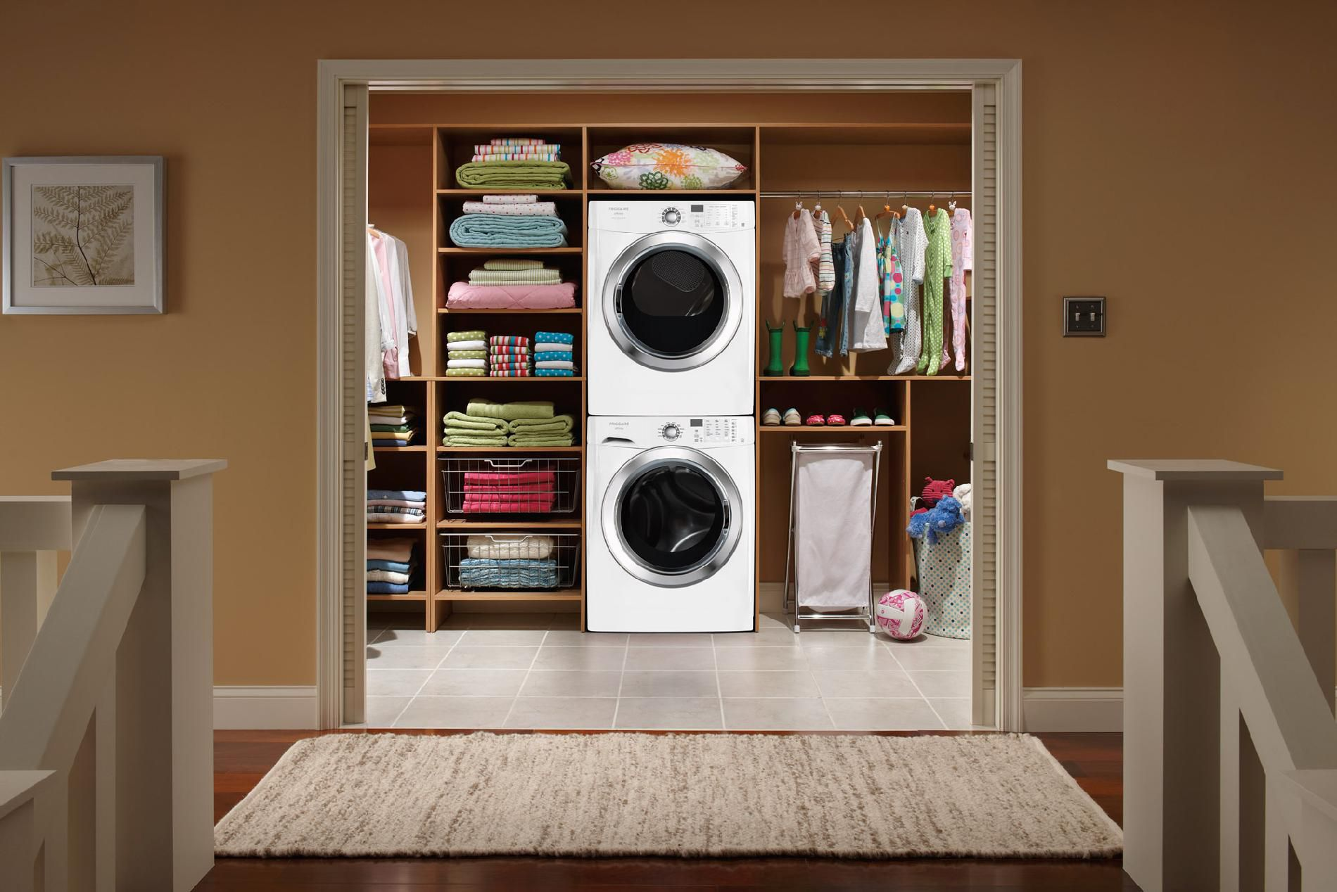 Frigidaire Affinity 7.0 cu. ft. Ready Steam™ Electric Dryer w/ 6 Specialty Cycles - Classic White