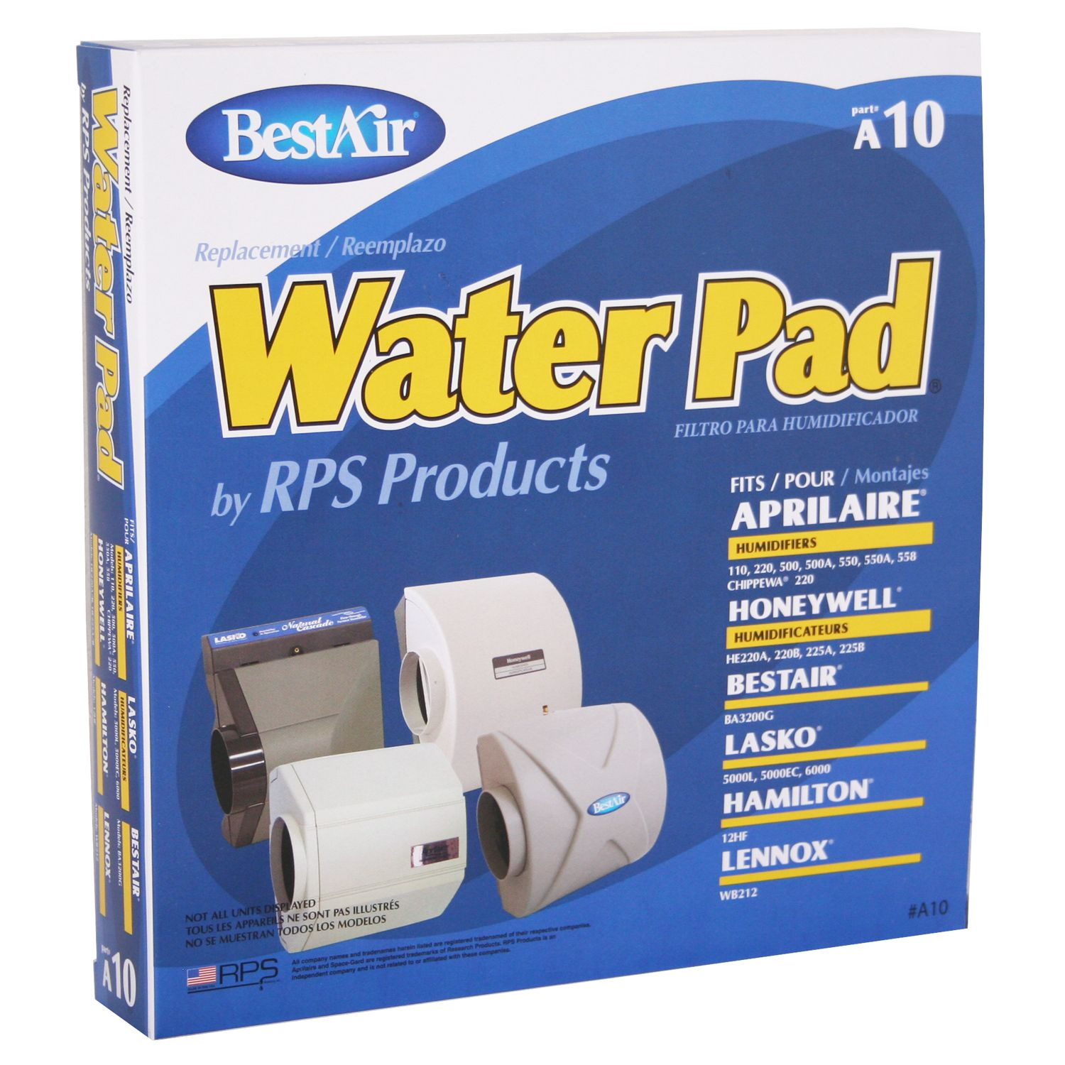 BESTAIR Metal  Water Pad for Furnace Humidifiers