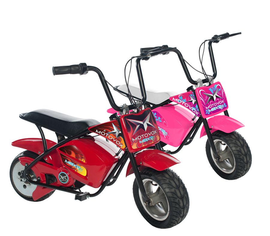 Motovox MBX Electric Mini Bike- Pink