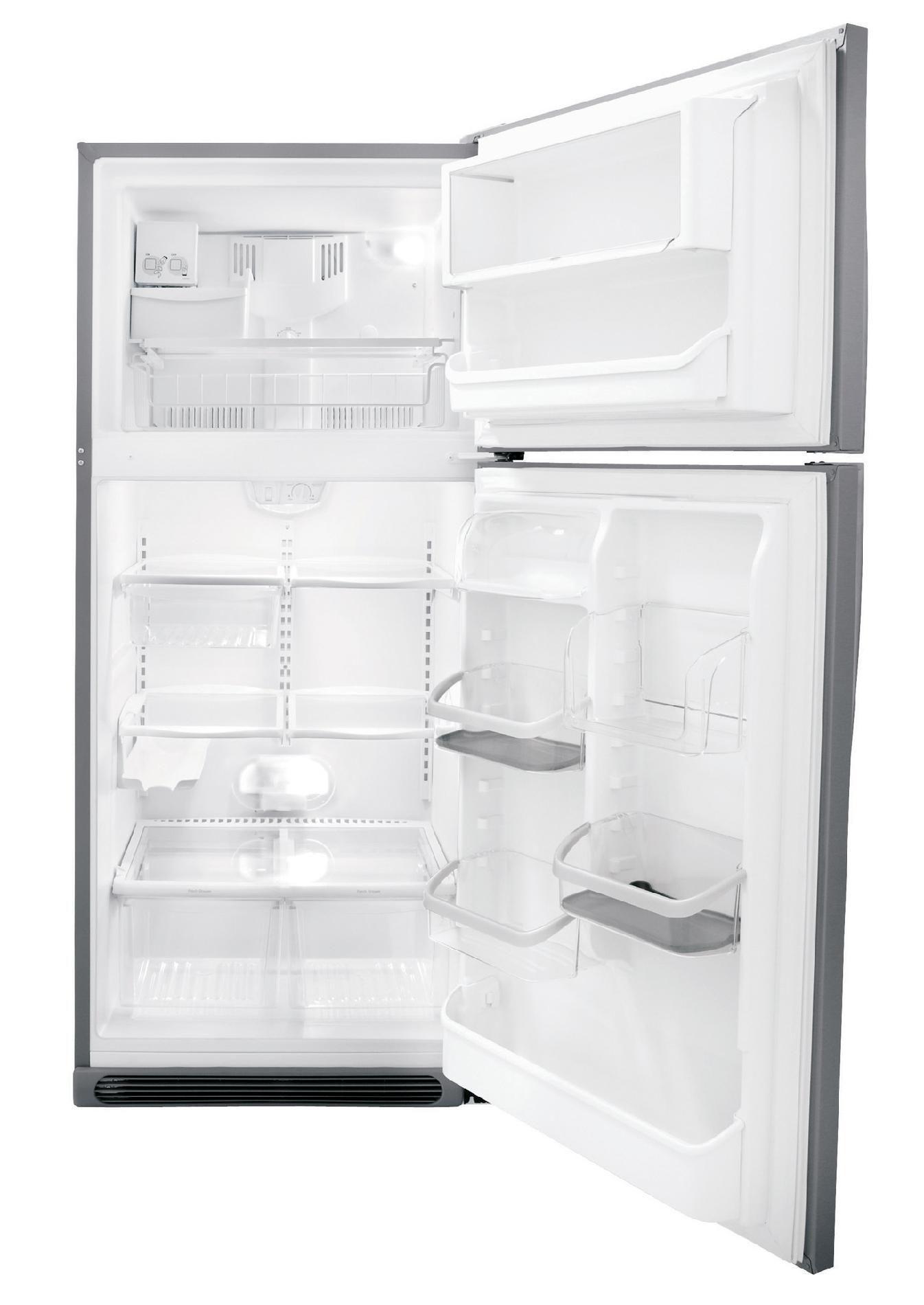 Frigidaire 20.6 cu. ft. Top Freezer Refrigerator - Stainless Steel