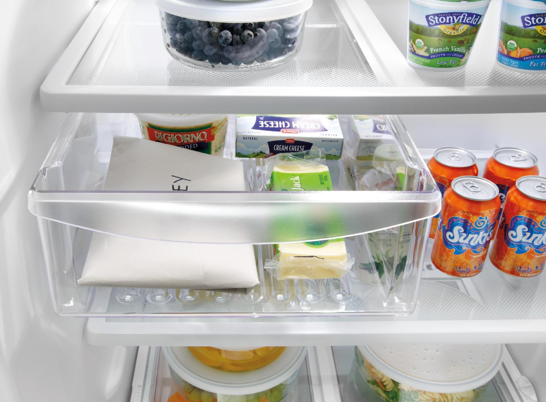 Frigidaire 18.2 cu. ft. Top Freezer Refrigerator - Stainless Steel