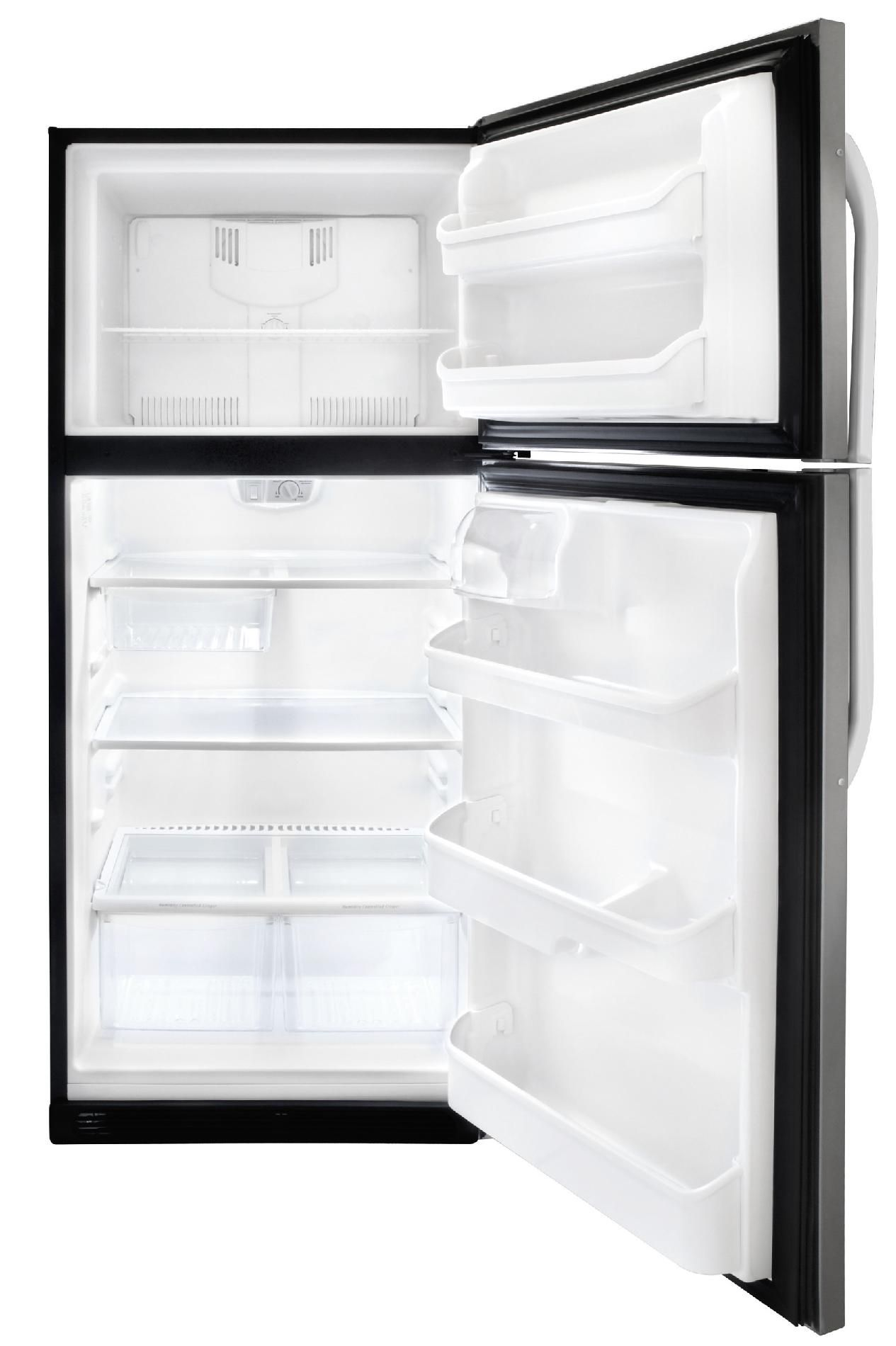 Frigidaire 20.5 cu. ft. Top Freezer Refrigerator - Stainless Steel