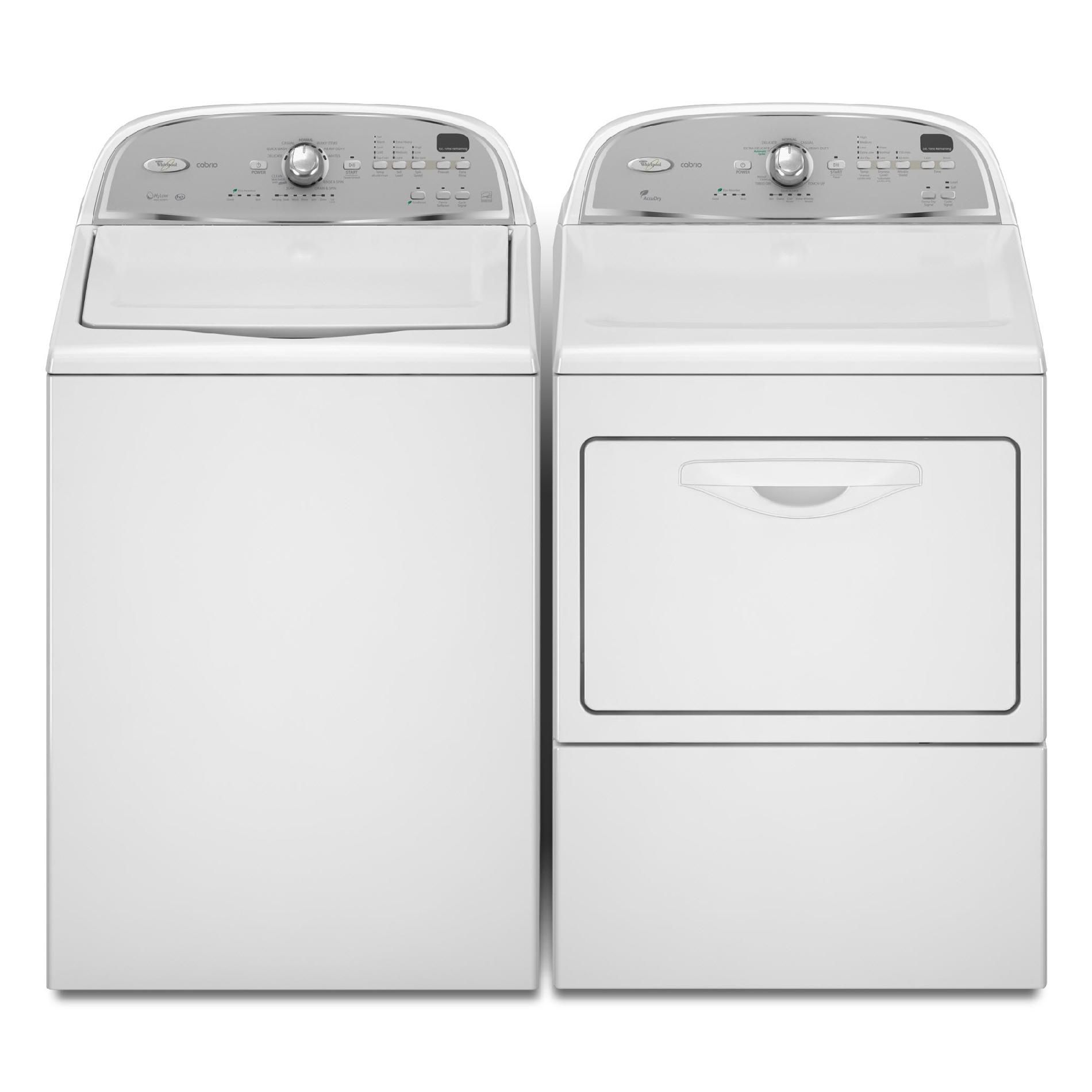 Whirlpool 7.4 cu. ft.  Cabrio® Gas Dryer - White