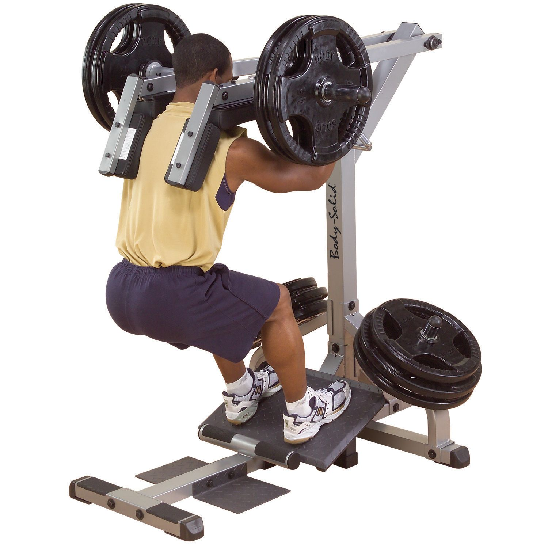 Body Solid GSCL360 Leverage Squat Calf Machine