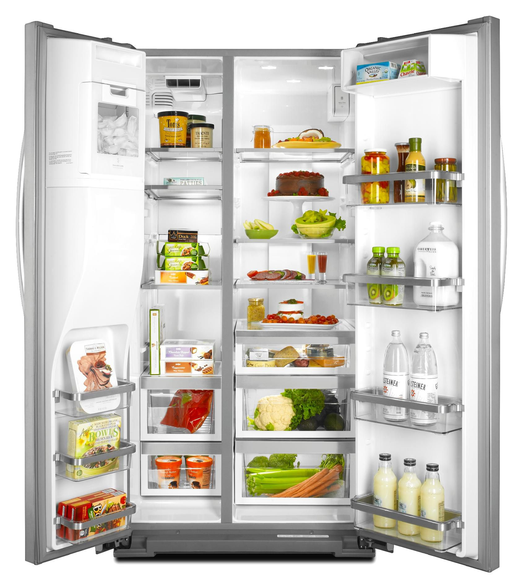KitchenAid 24 cu. ft. Counter-Depth Side-by-Side Refrigerator