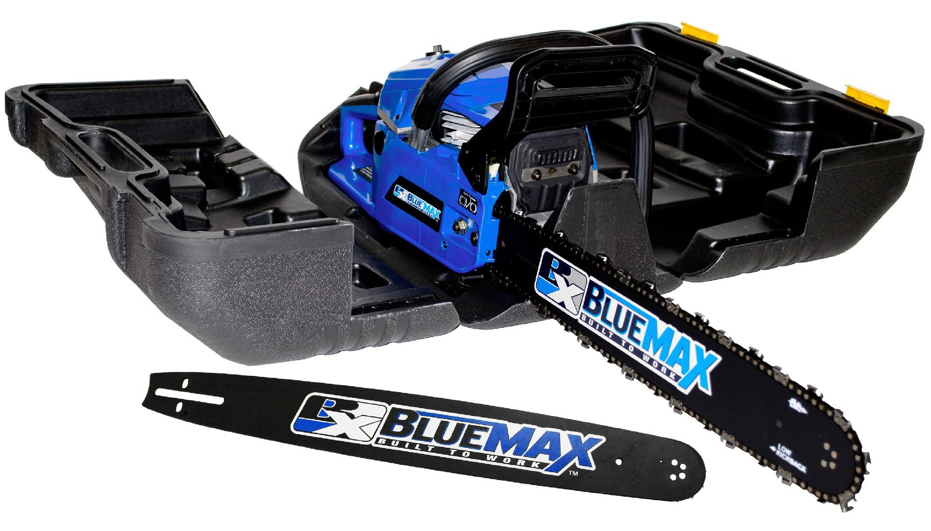 "BLUE MAX 2-in-1  - 14""/20"" Combination Chainsaw in Protective Case- 8902"