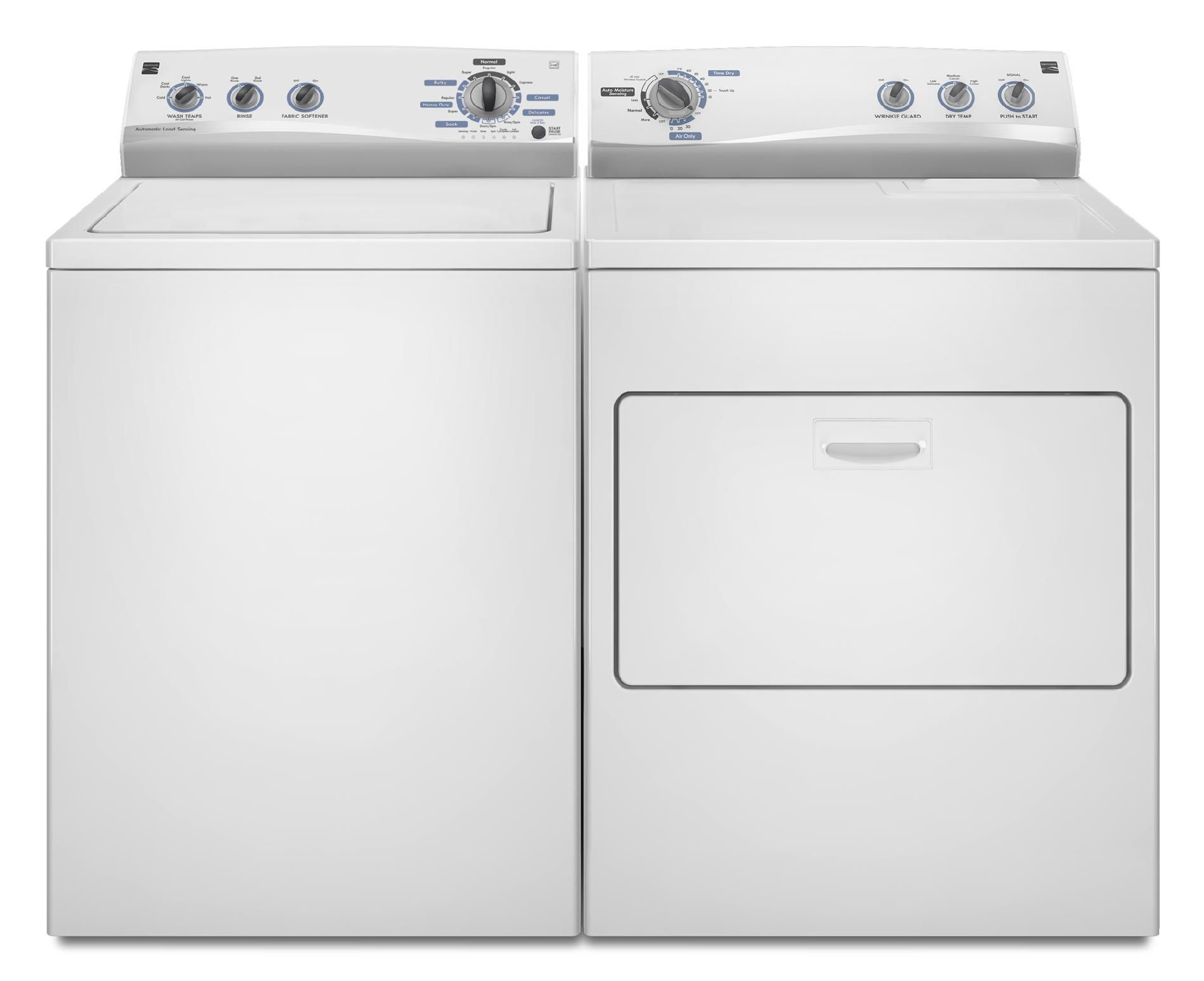 Kenmore 3.4 cu. ft. Top-Load Washing Machine w/Triple-Action® Agitator - White