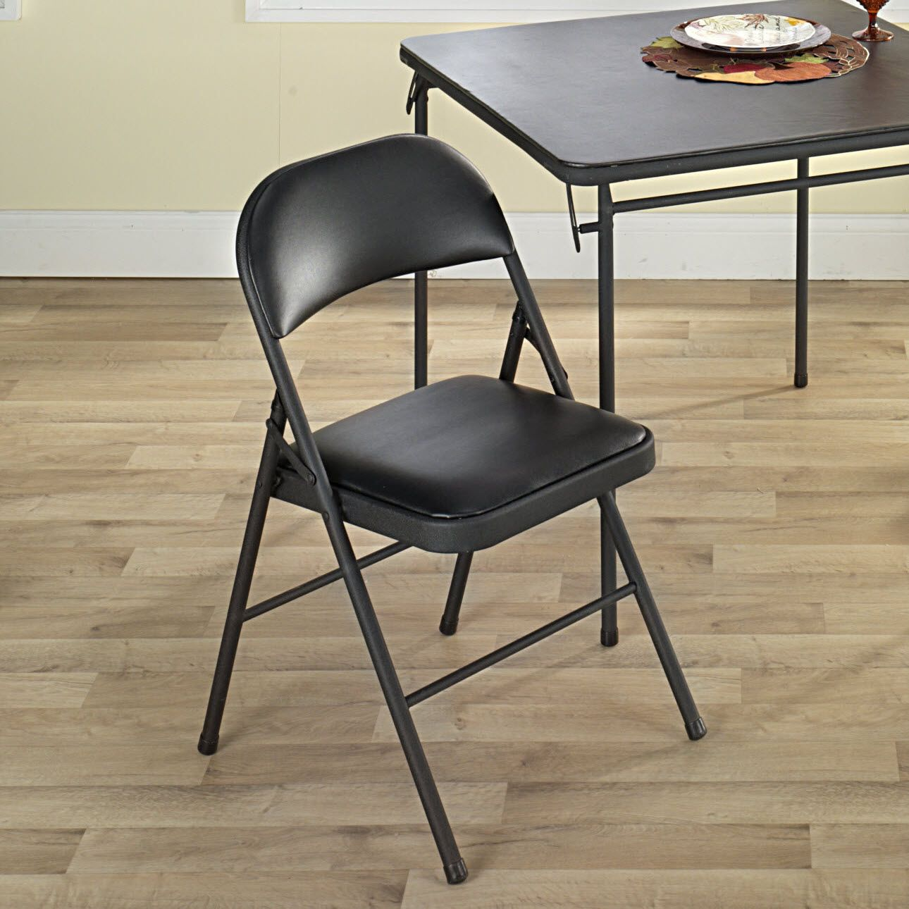 Cosco Home and Office Products Vinyl Folding Chair