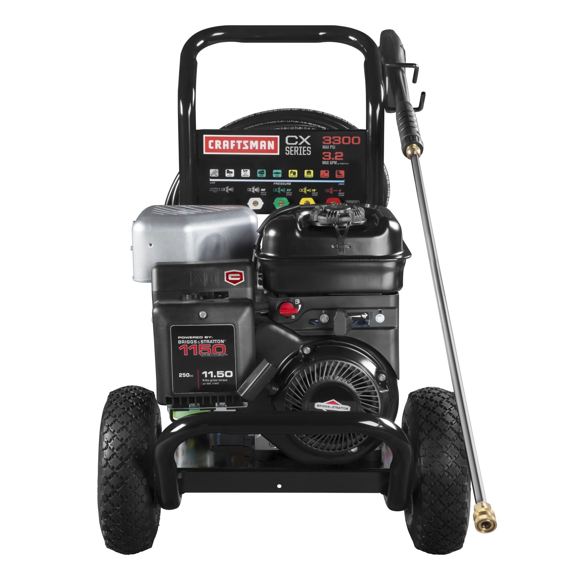 Craftsman 3,300 PSI 3.2GPM Gas Powered Pressure Washer