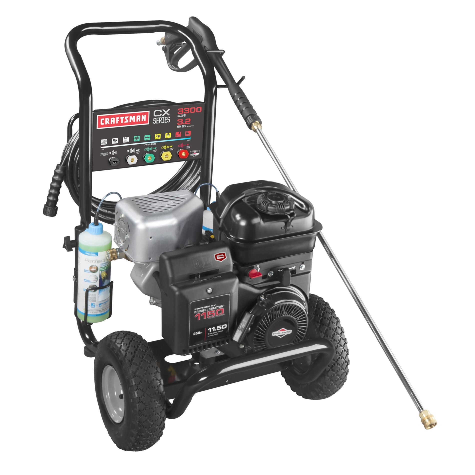 Craftsman CX Series Pressure Washer 3,300 PSI 3.2 GPM Briggs & Stratton Powered - 50 State