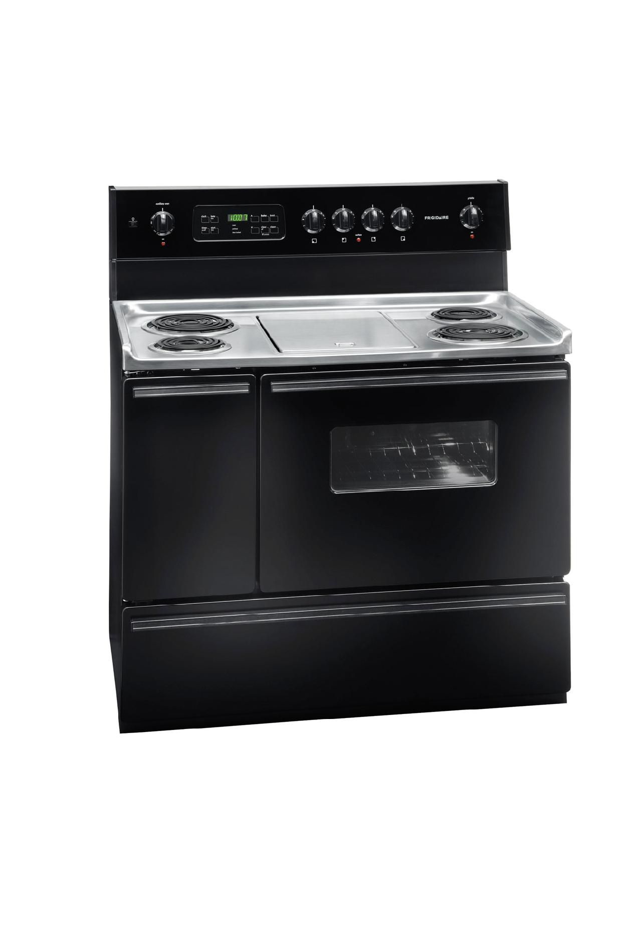 "Frigidaire 5.4 cu. ft. 40"" Self-Clean Electric Range w/ Coil Elements"