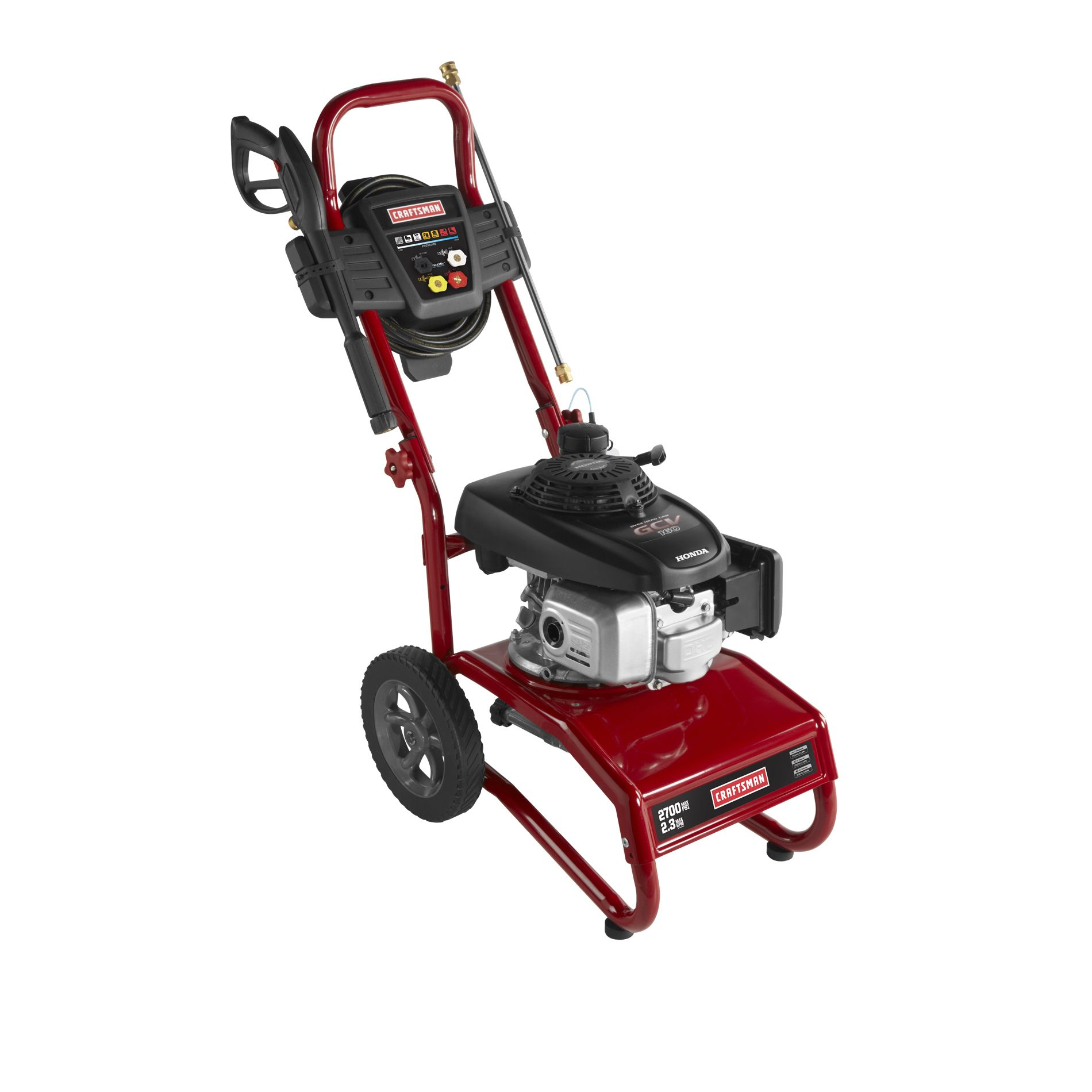 Craftsman Pressure Washer 2700 PSI, 2.3 GPM Honda Powered