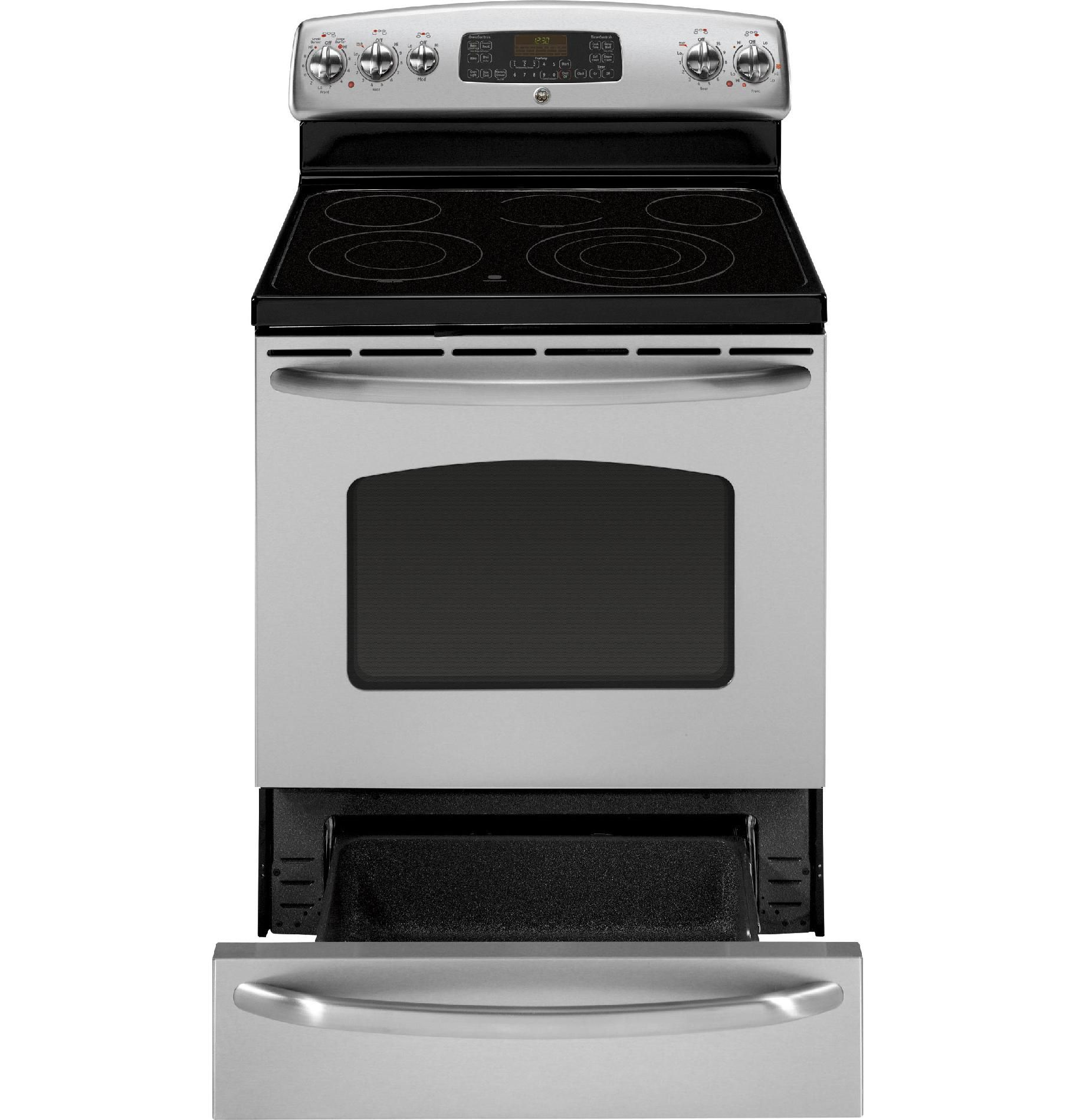 GE 5.3 cu. ft. Convection Range w/ Warming Drawer - Stainless Steel