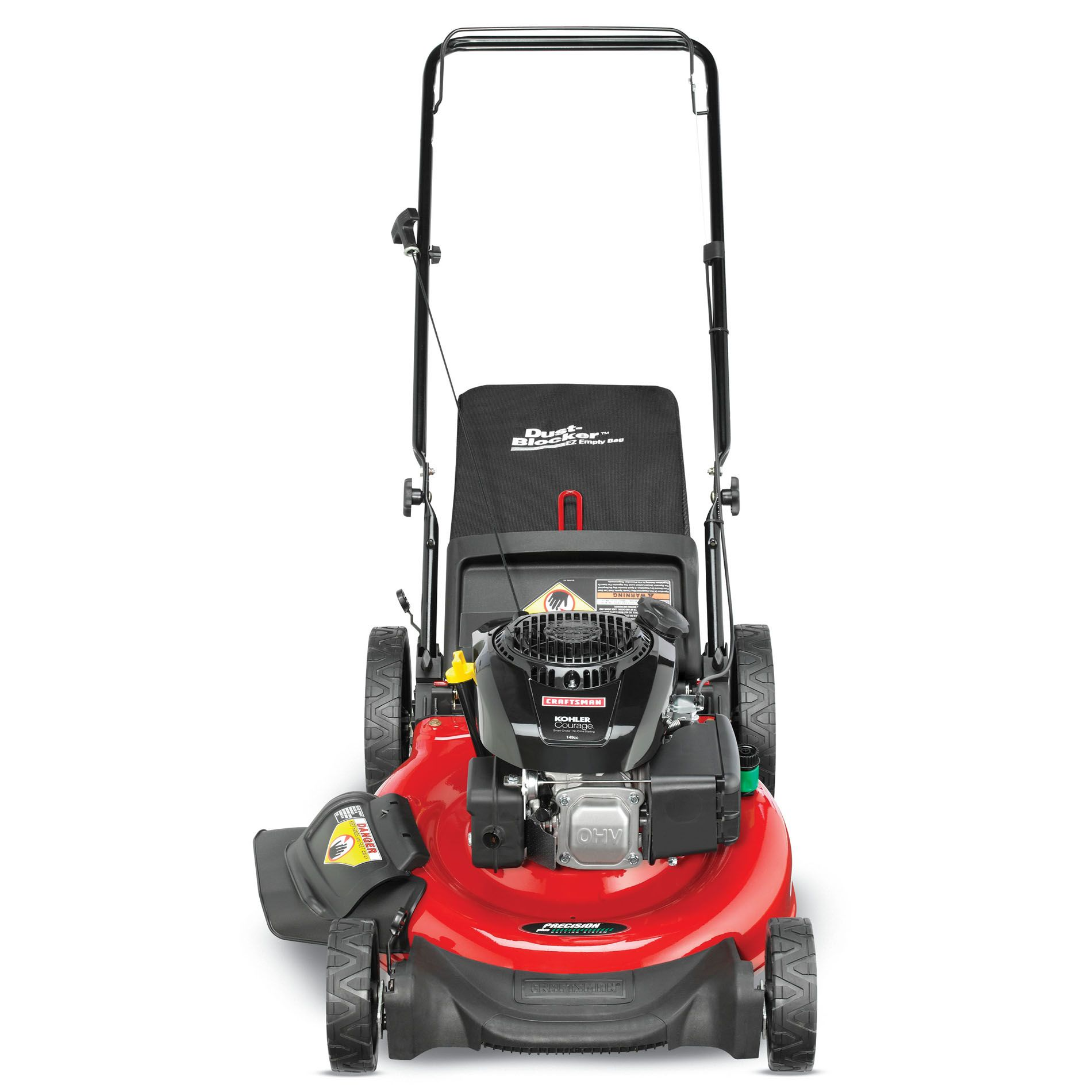 "Craftsman 149cc* Kohler Engine, 21"" Rear Bag Push Mower"