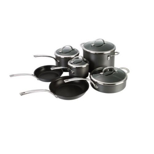 Kenmore 10 pc. Hard Anodized Interior Cookware Set