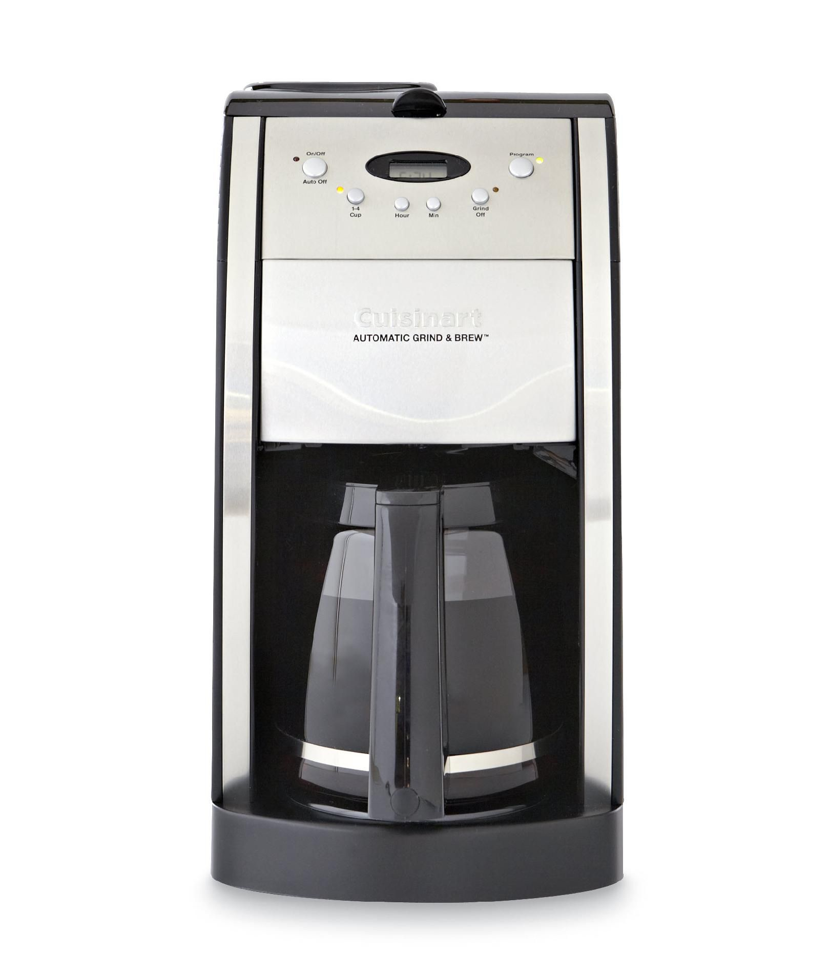 Cuisinart Premier Coffee Series Grind/Brew Automatic 12-Cup Coffee Maker