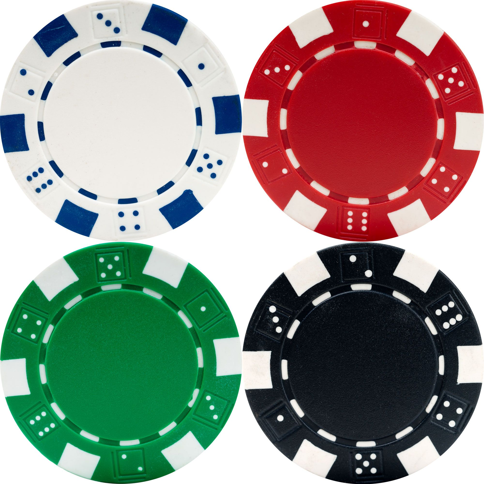 Trademark 500 Dice Style 11.5g Poker Chip Set - Retail Ready!