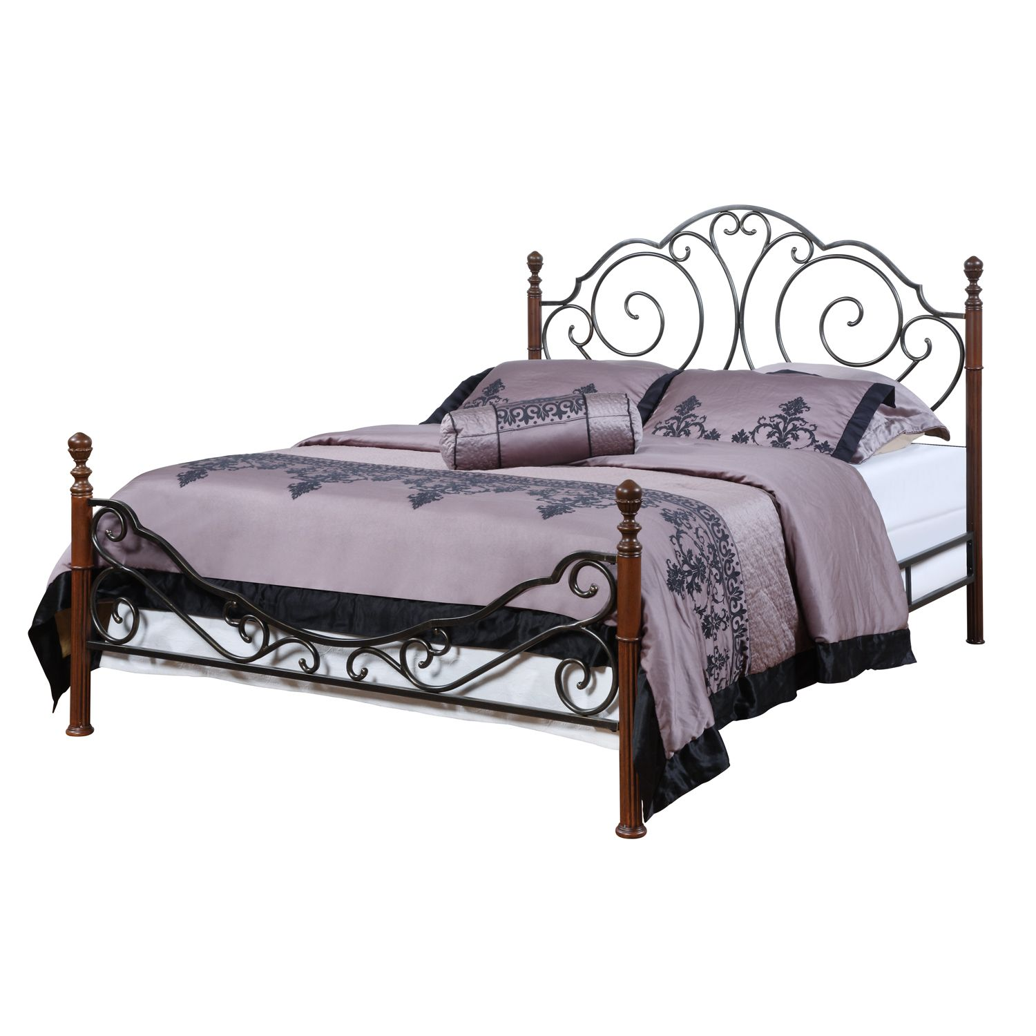 Oxford Creek Bronze Metal Full Poster Bed