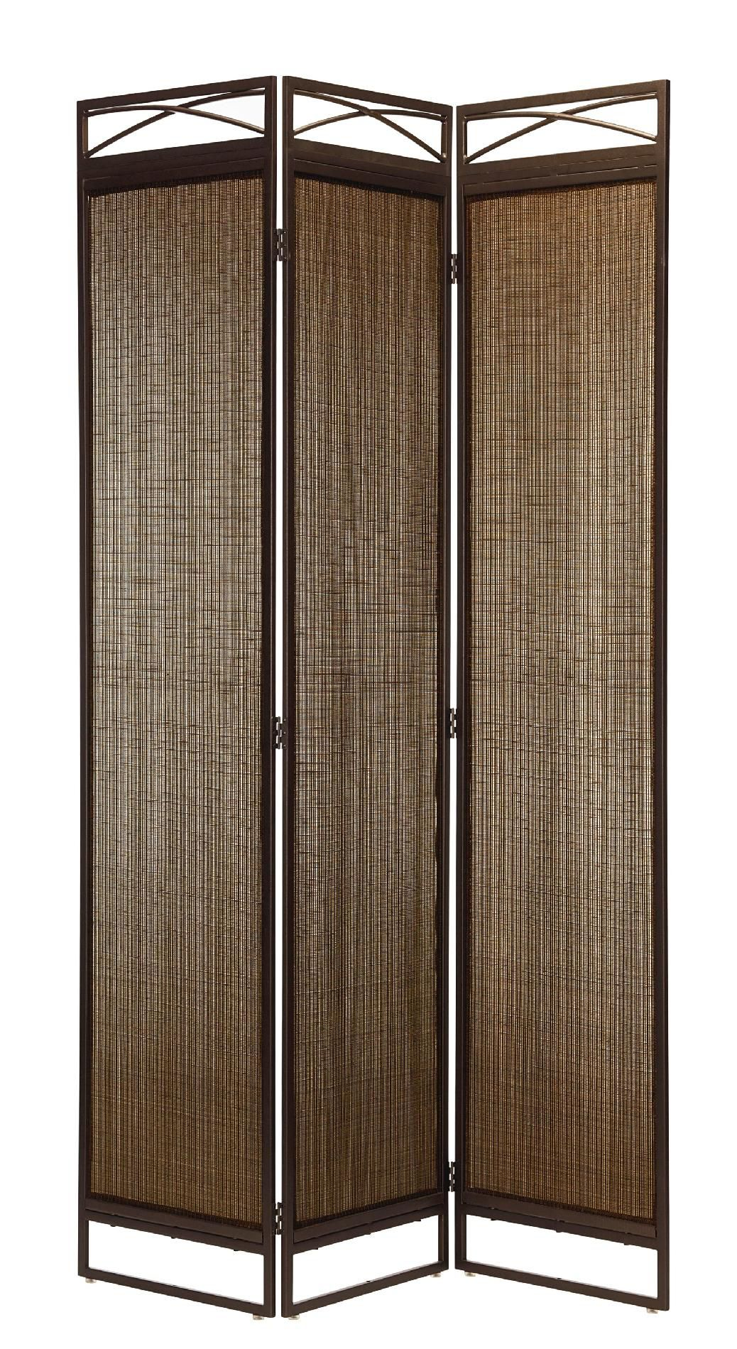 Garden Oasis Brown Sling 3 Panel Screen* Limited Availability